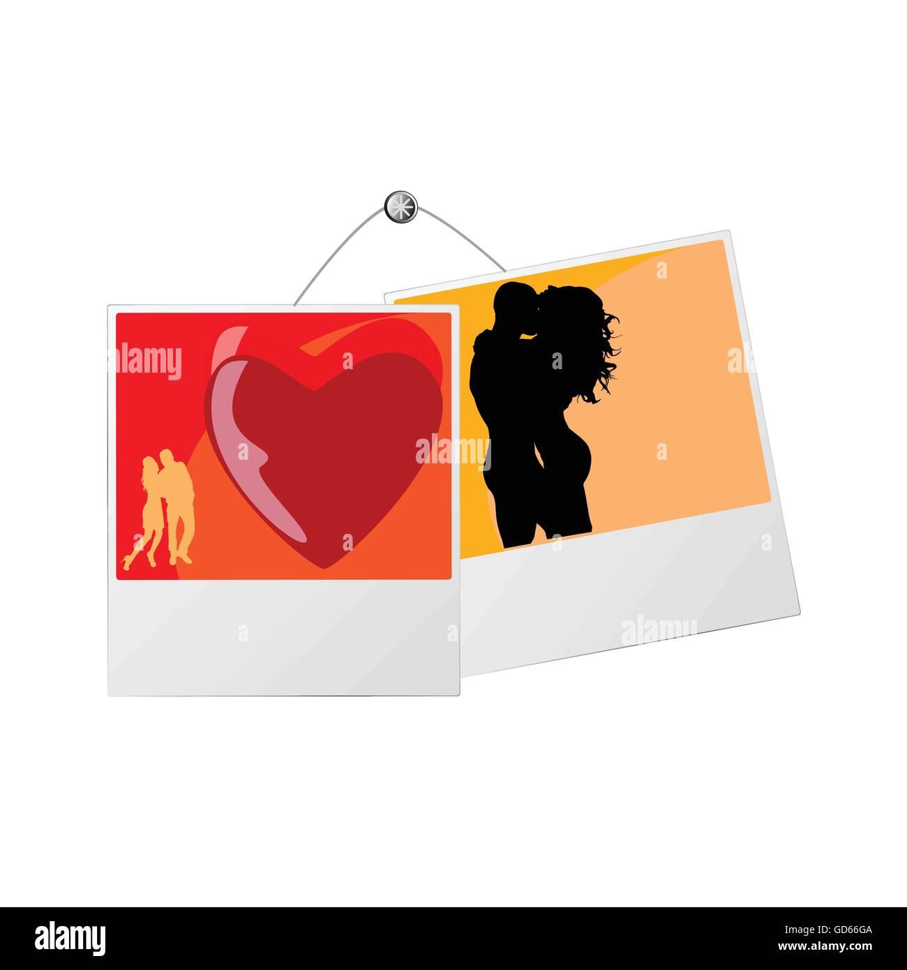 Wunderbar Liebe Online Paar Fotorahmen Bilder - Rahmen Ideen ...