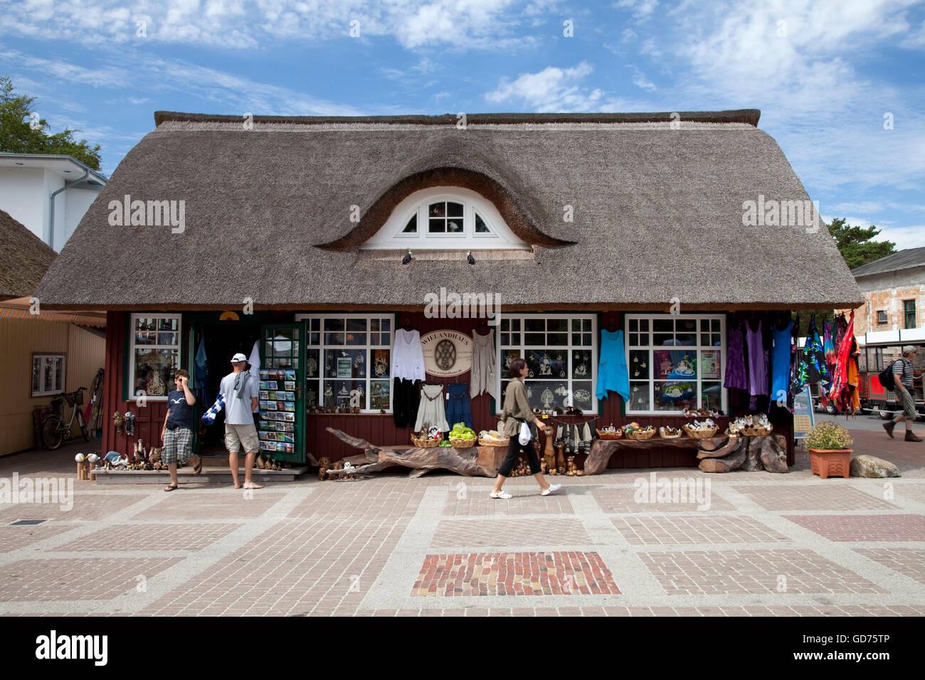 Souvenir Shop auf der Promenade Ostseebad Prerow