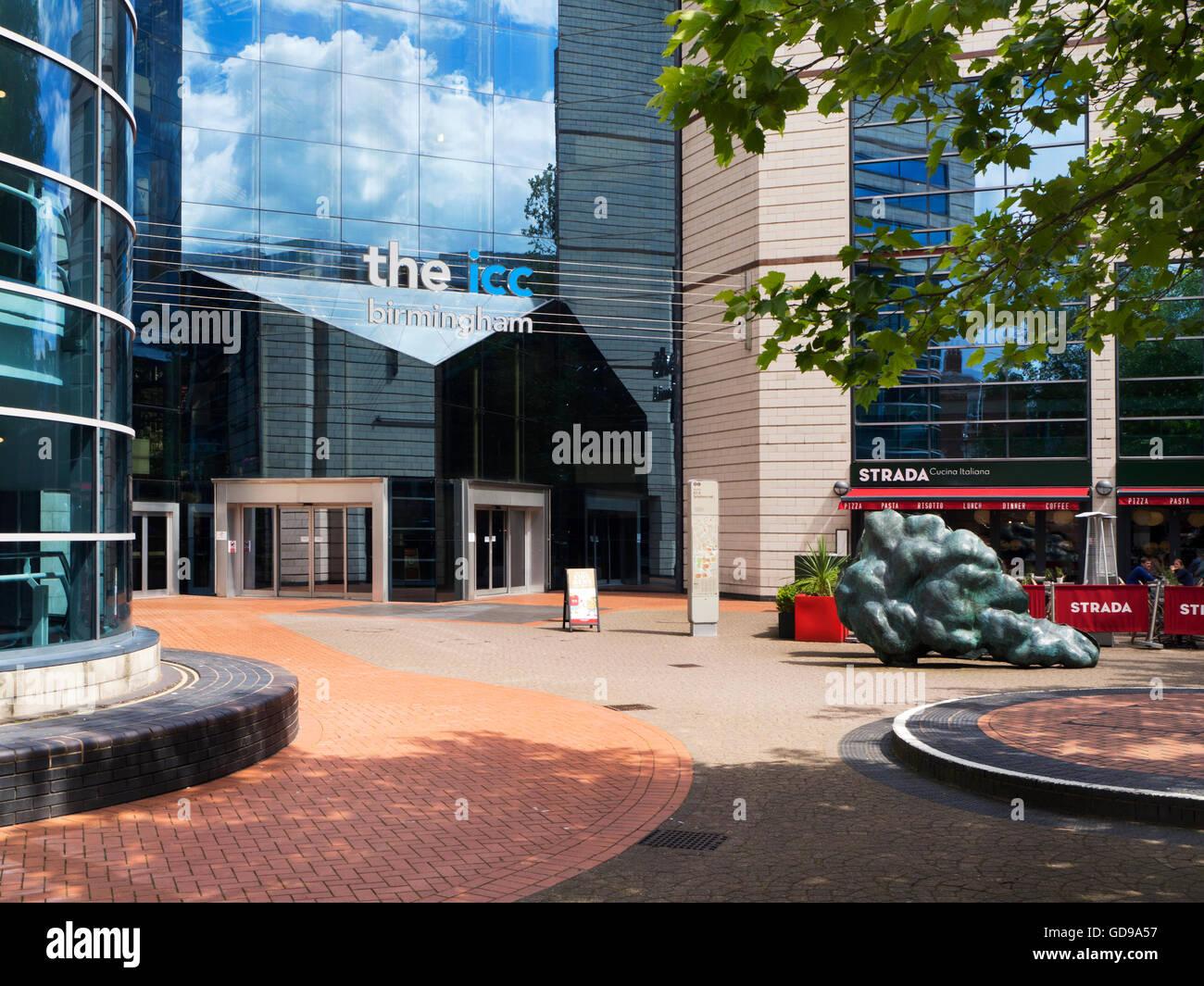 International Convention Centre von Brindley Platz Birmingham West Midlands England Stockbild