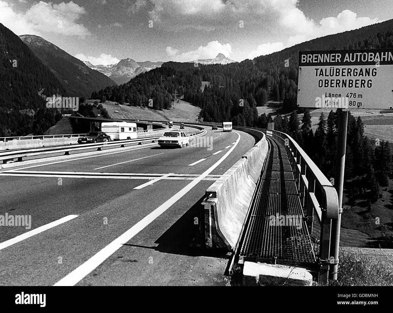 Verkehr Brennerautobahn A13