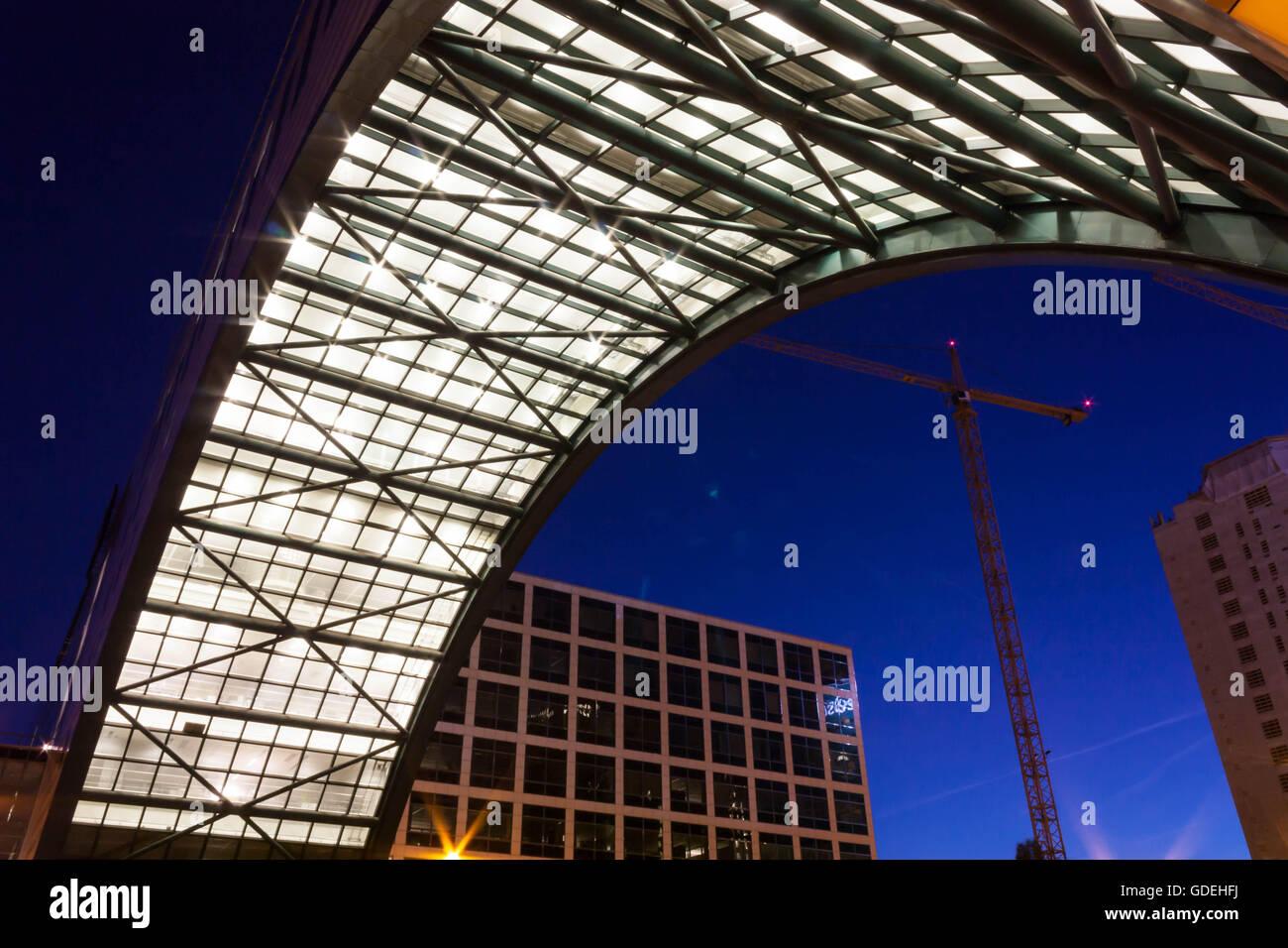 Architektonische Besonderheit, den Haag, Holland Stockfoto
