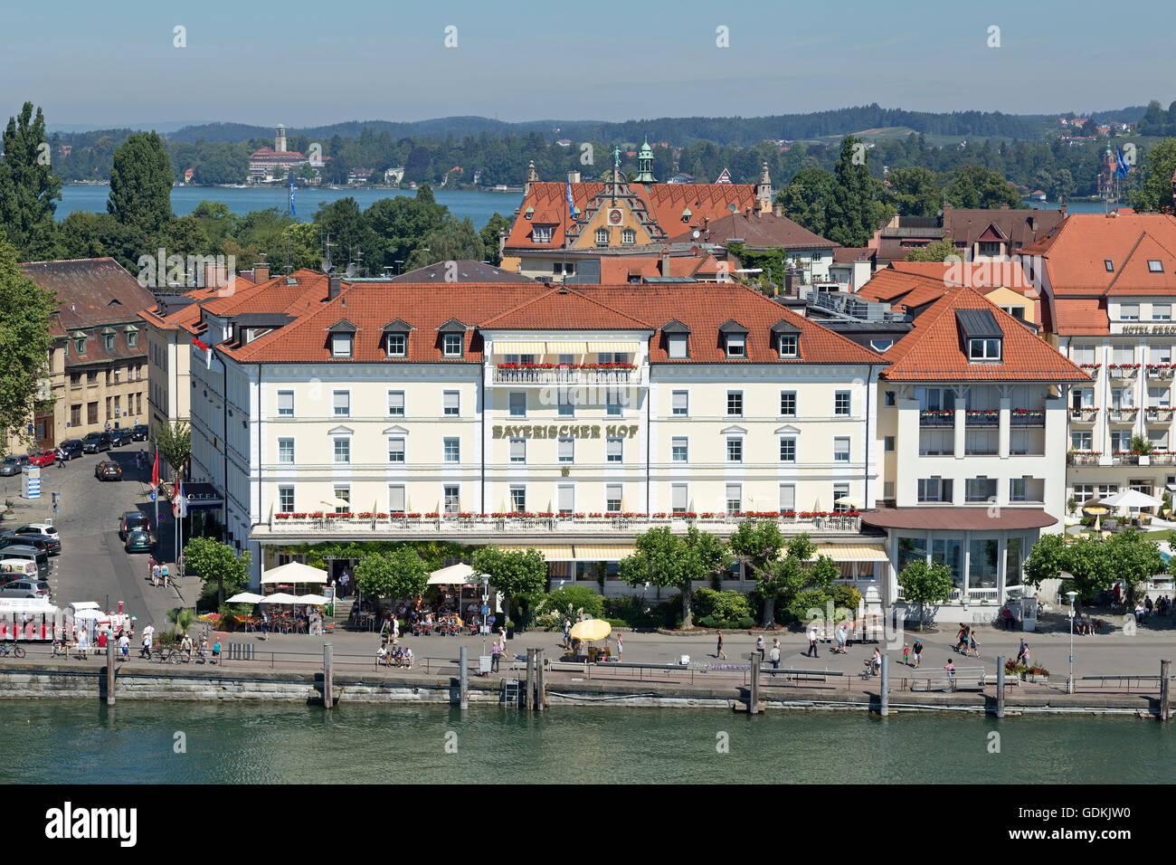 Hotel Bayerischer Hof Hafen Lindau Bodensee Bayern