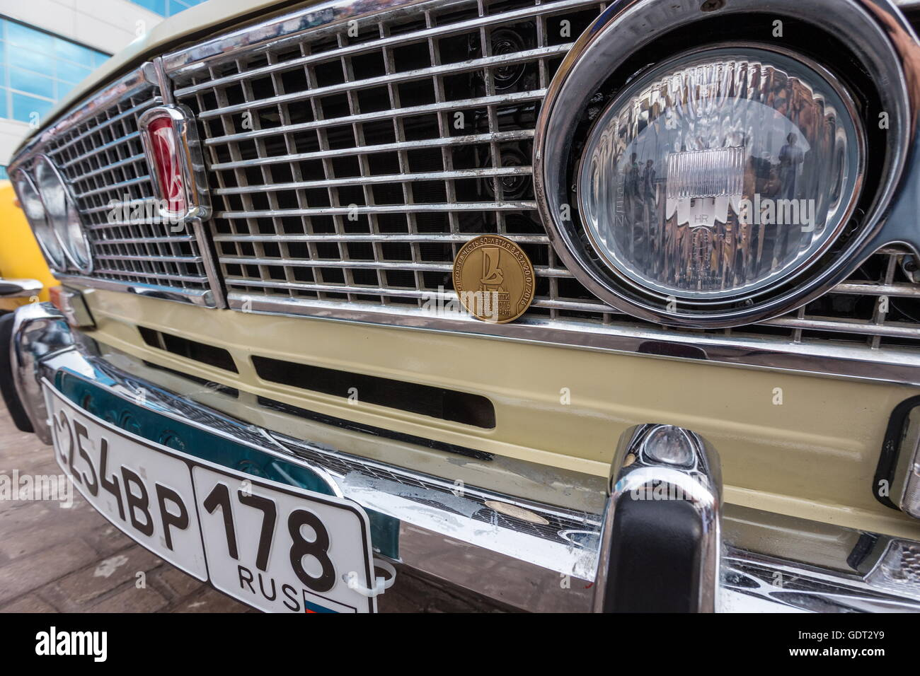 Samara Region Russland 20 Juli 2016 Lada Oldtimer Auf Dem