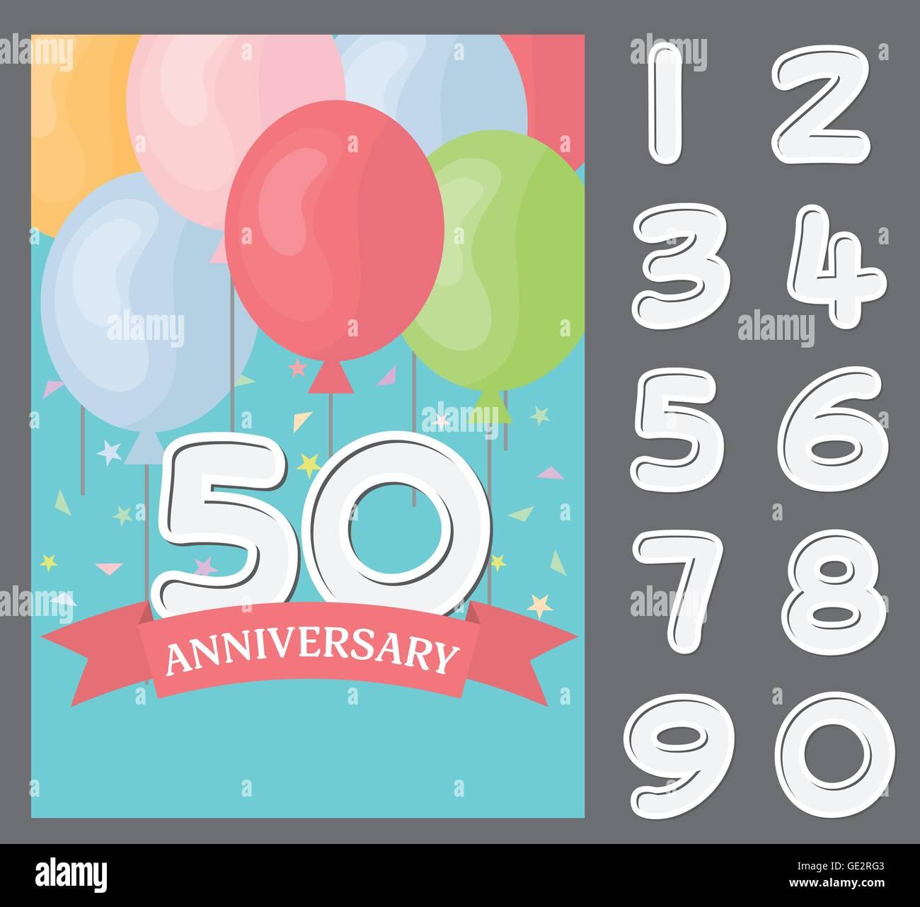 Dankeskarte Geburtstag Funkelnde Jahre