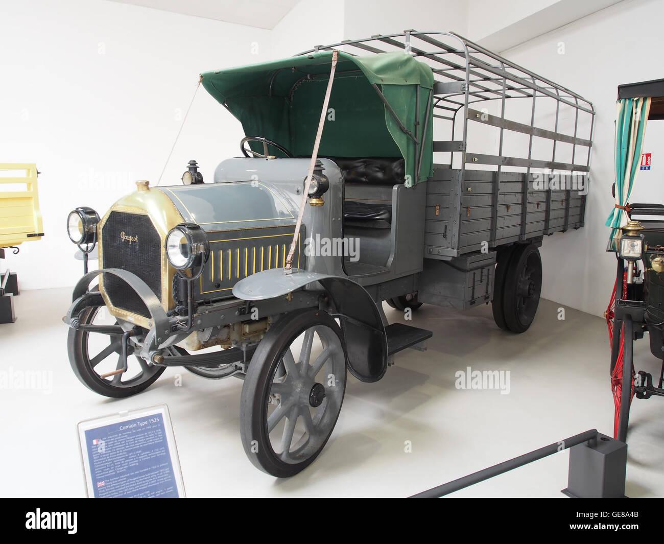 1917-1920 Peugeot Type 1525 Foto 1 Stockbild