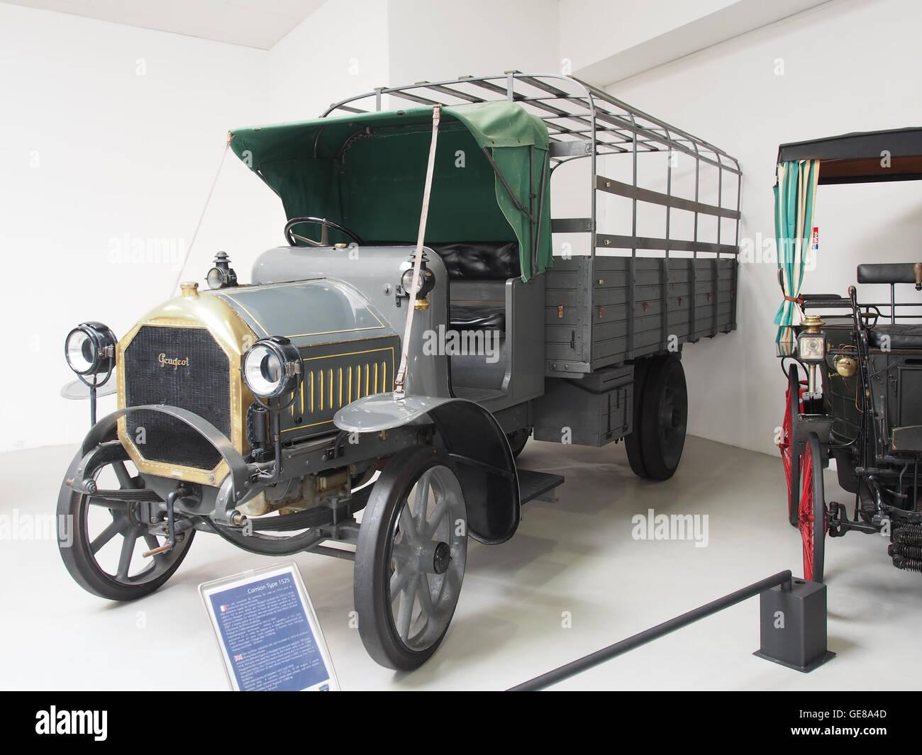 1917-1920 Peugeot Type 1525 Foto 3 Stockbild