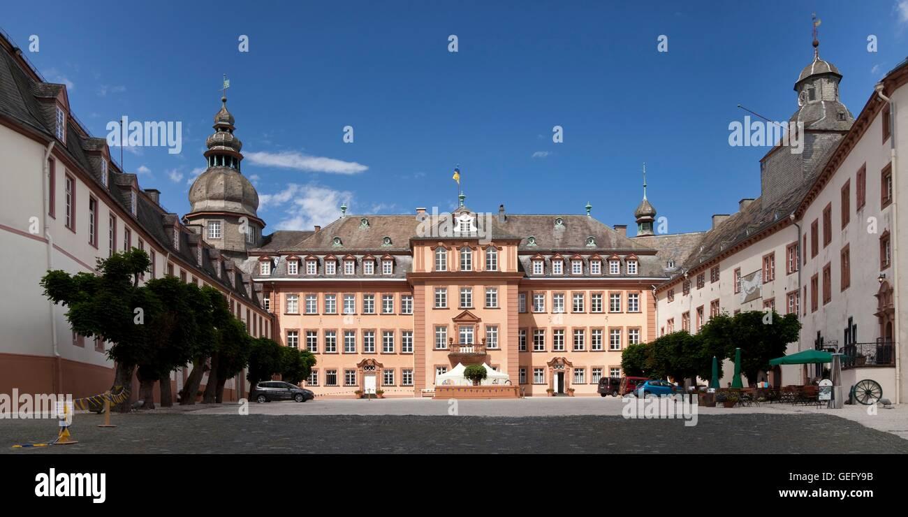 Schloss Berleburg, Bad Berleburg Stockfoto, Bild: 112218103 - Alamy