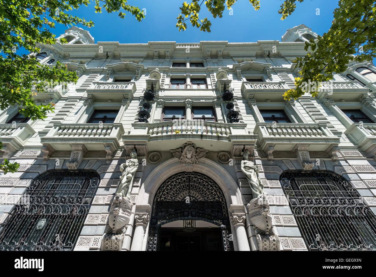 Banco de Santander, Santander, Kantabrien, Spanien Stockbild