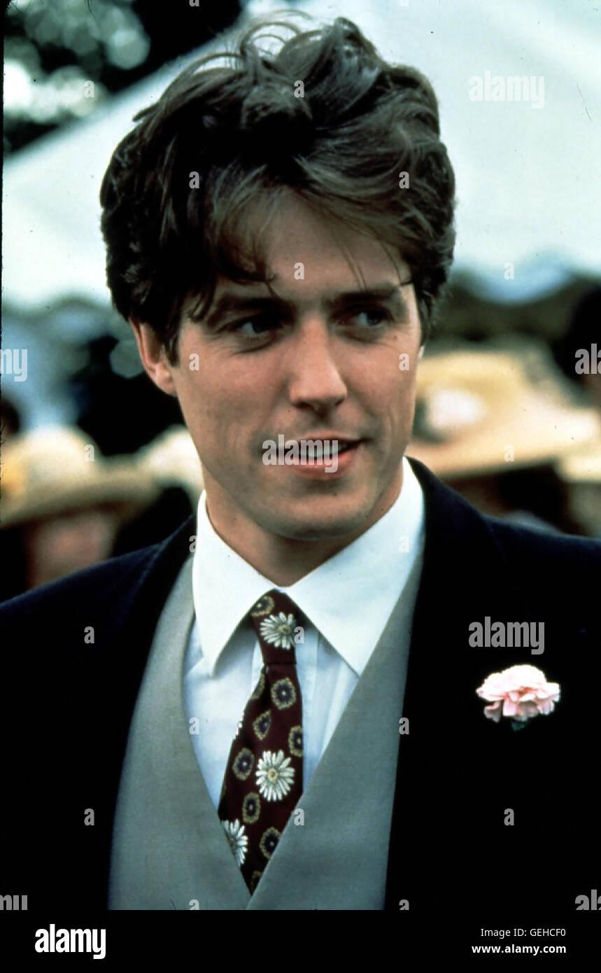 Hugh Grant 1993 Lokalen Caption 1993 Vier Hochzeiten Und