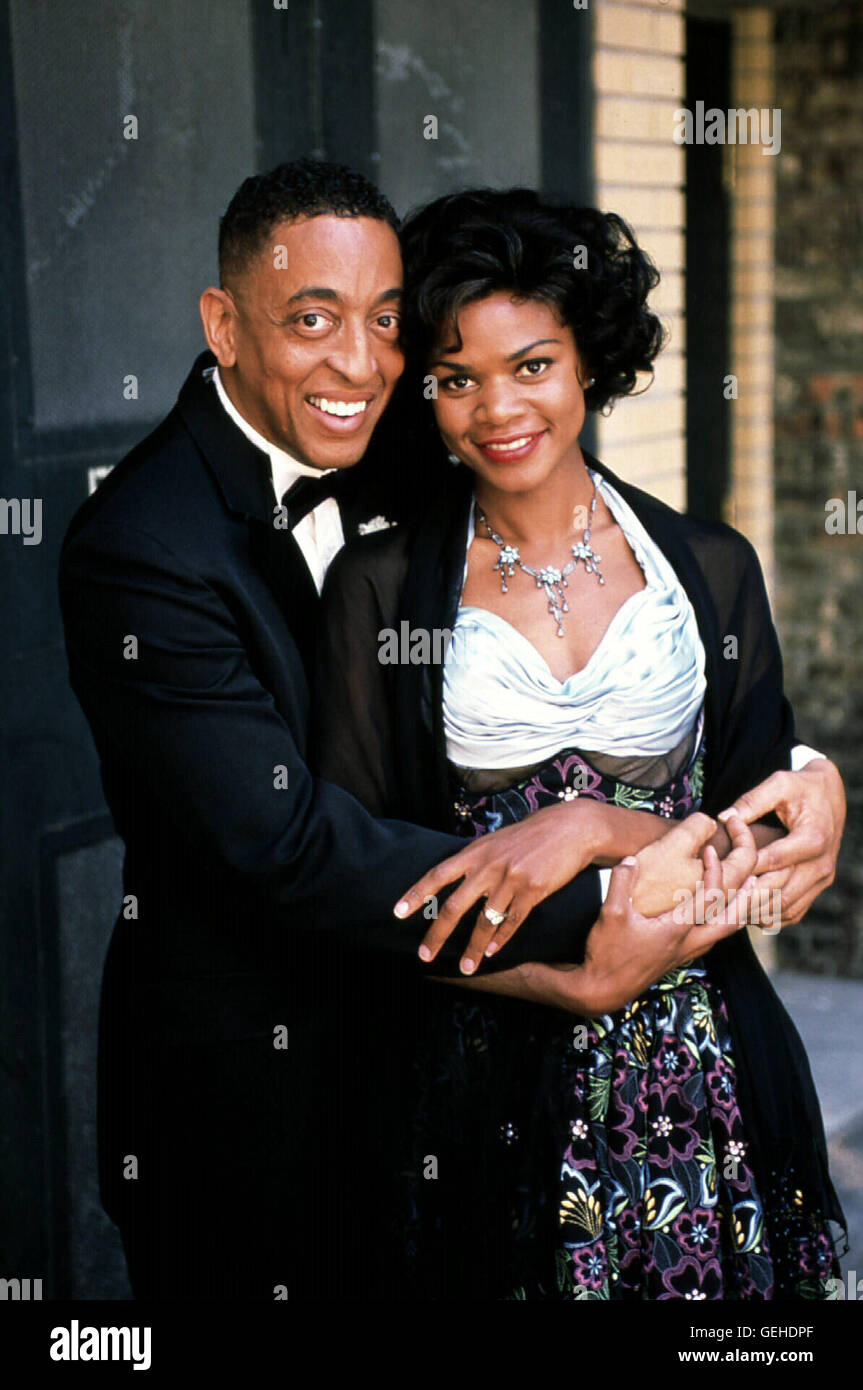 "Gregory Hines, Kimberly Elise Bill ""Bojangles"" Robinson (Gregory Hines), Fannie Clay (Kimberly Elise) Stockbild"