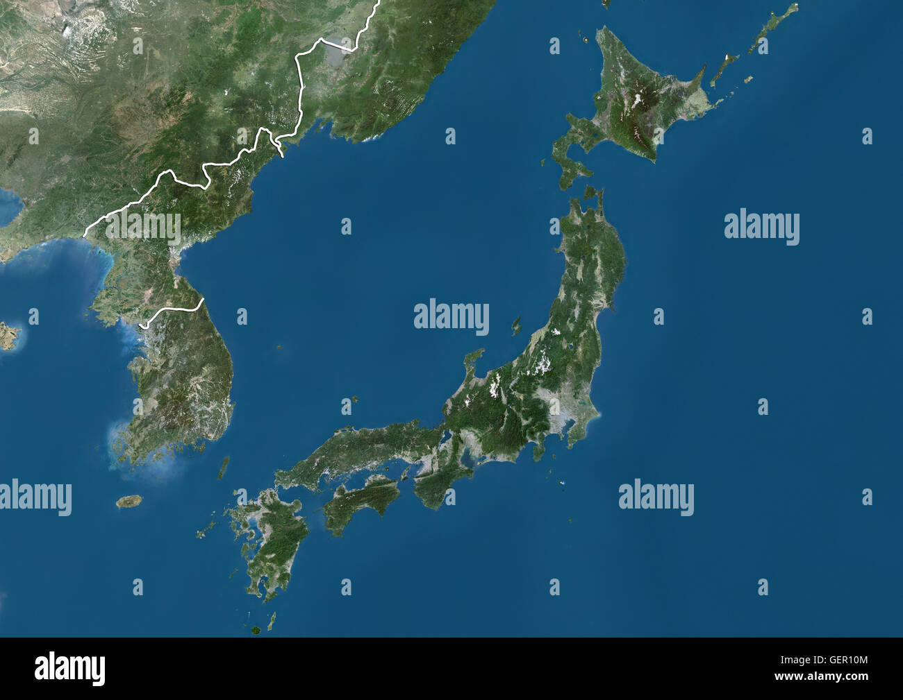 satellite view of honshu stockfotos satellite view of honshu bilder alamy. Black Bedroom Furniture Sets. Home Design Ideas