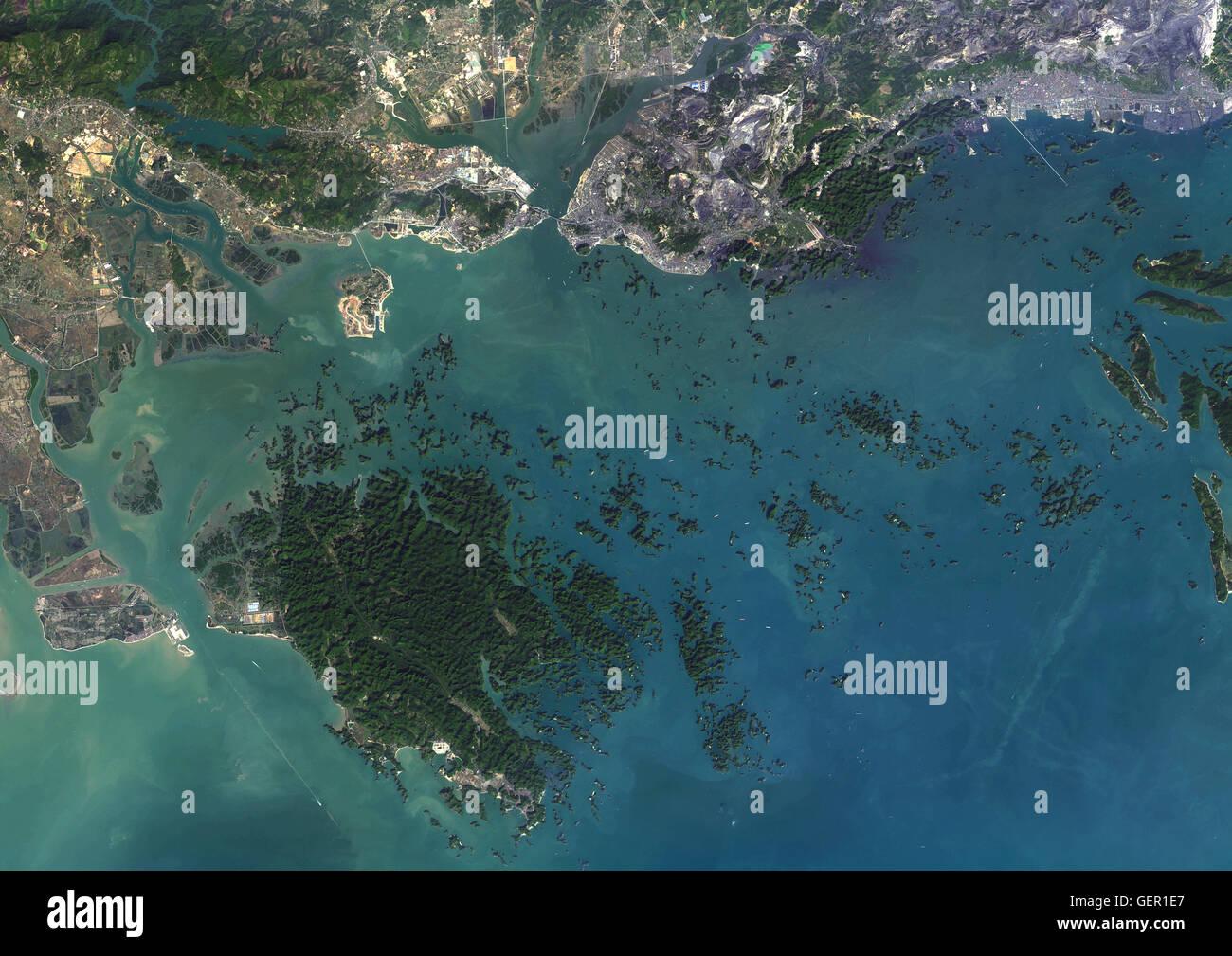 Satellite View Vietnam Stockfotos Und Bilder Kaufen Alamy