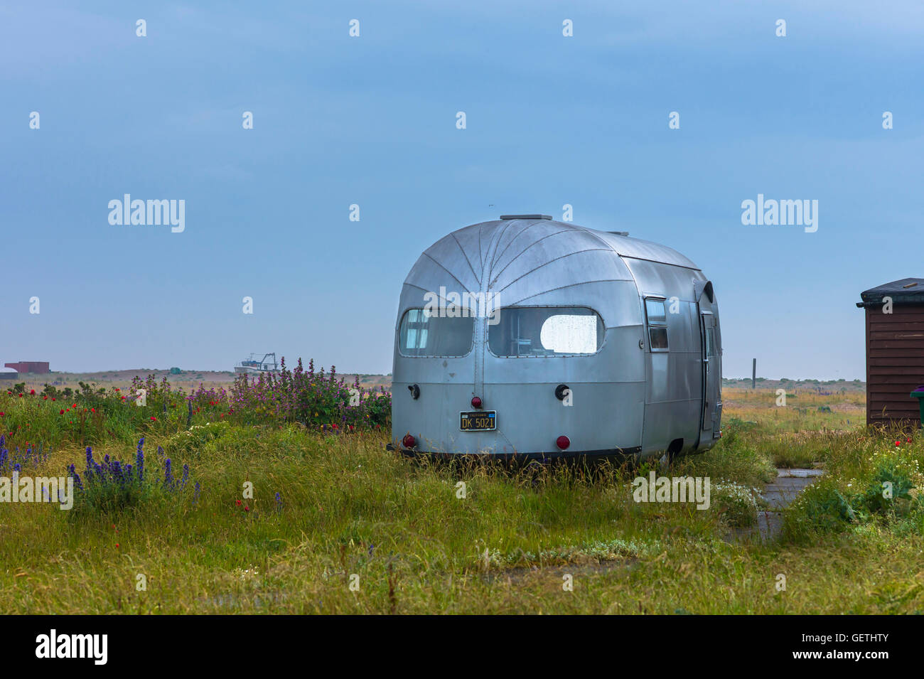 Airstream Caravan Stockfotos Airstream Caravan Bilder