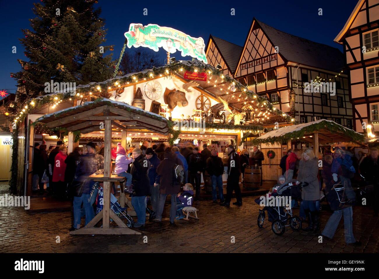 Weihnachtsmarkt Soest Stockfoto Bild 112467759 Alamy