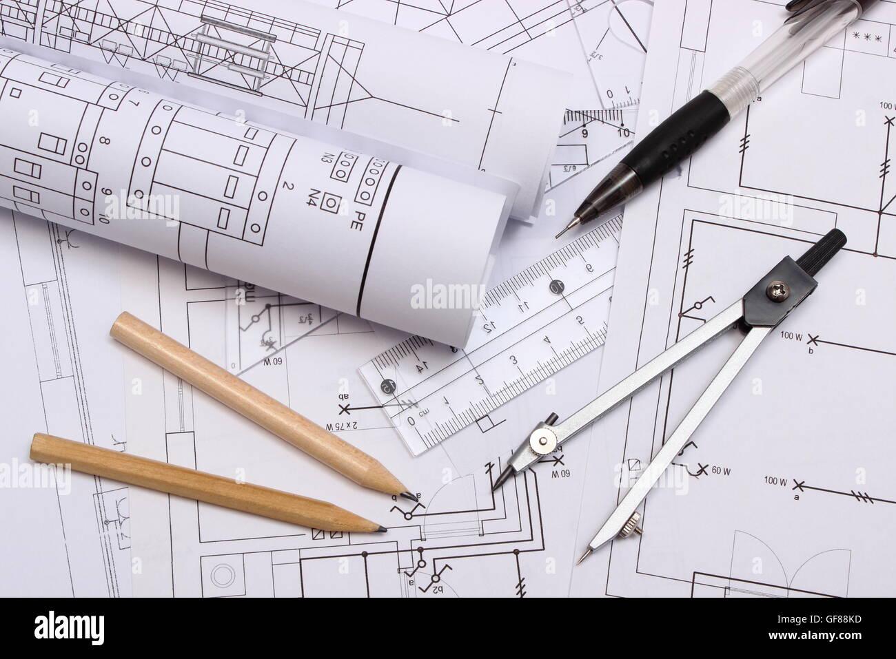 Ausgezeichnet Schaltplan Eines Hauses Bilder   Die Besten .