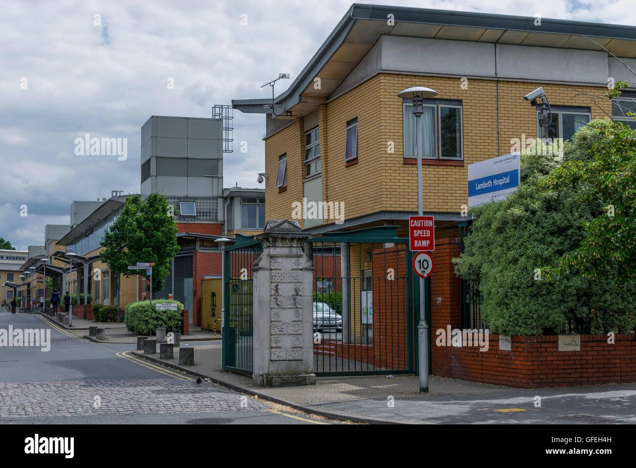 Lambeth ist eine britische psychiatrischen Krankenhaus in Südlondon. Es ist Bestandteil der South London und Stockbild