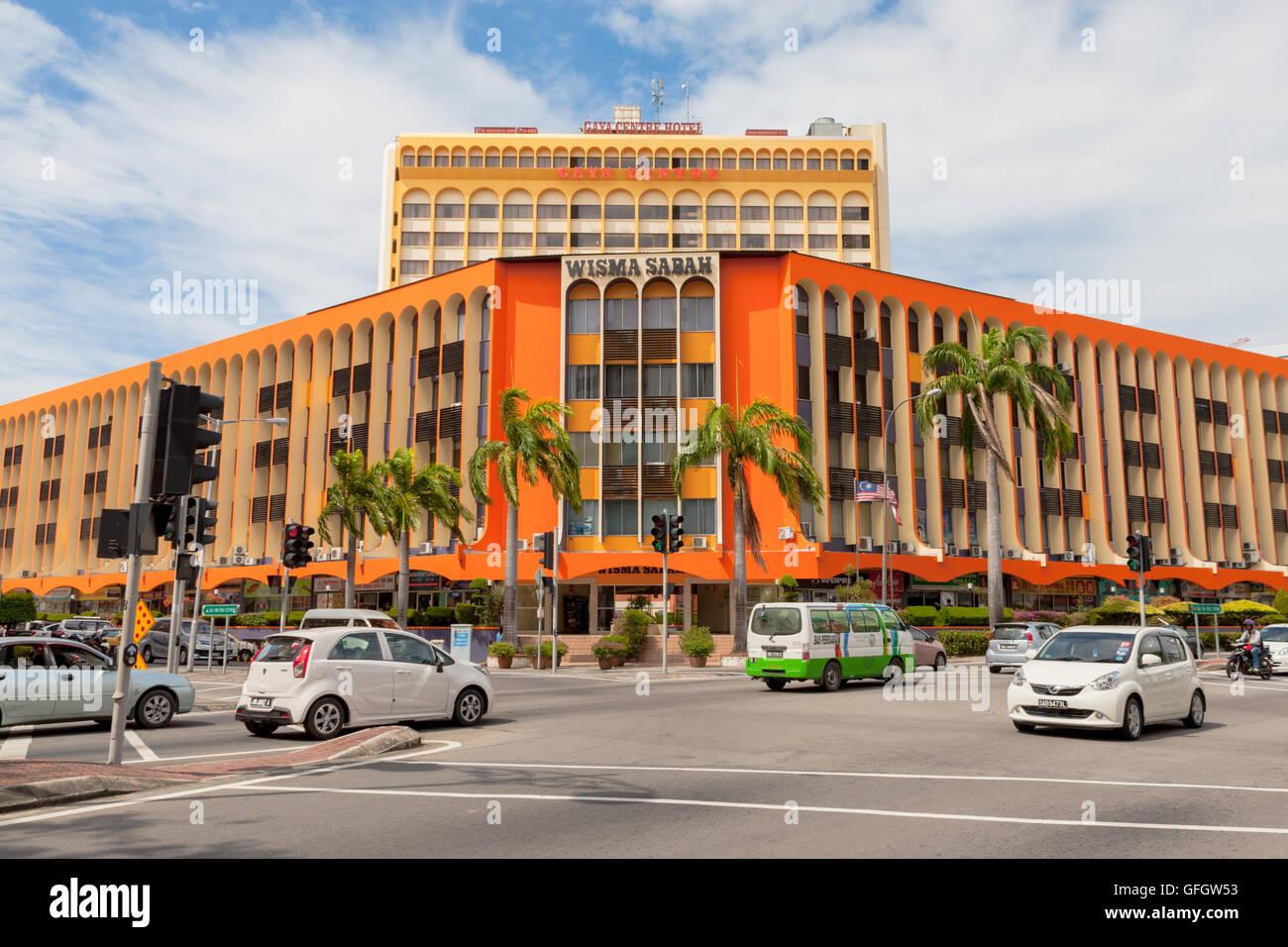 Wisma Sabah Einkaufszentrum Im Zentrum Von Kota Kinabalu Sabah
