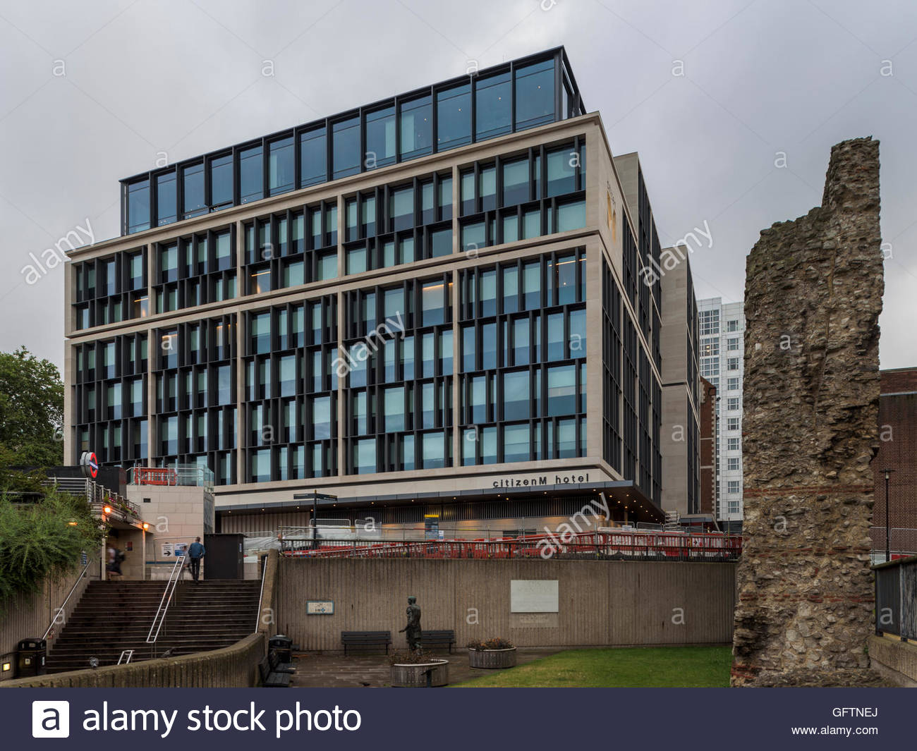 Citizen M Hotel - Tower of London Stockbild