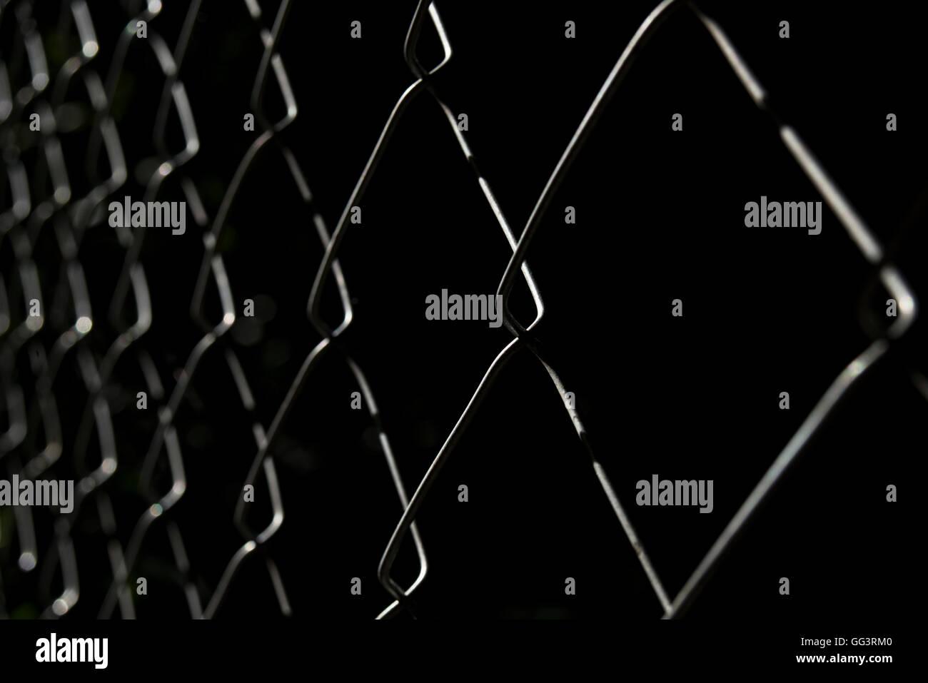 Metal Mesh Wire Closeup Black Stockfotos & Metal Mesh Wire Closeup ...