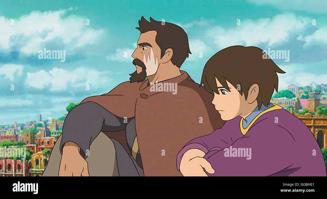 Chroniken von Erdsee sterben / Erzmagier GED Und Prinz ARREN Regie: Goro  Miyazaki aka. Geschichten von Earthsea / Gedo Senki Stockfotografie - Alamy