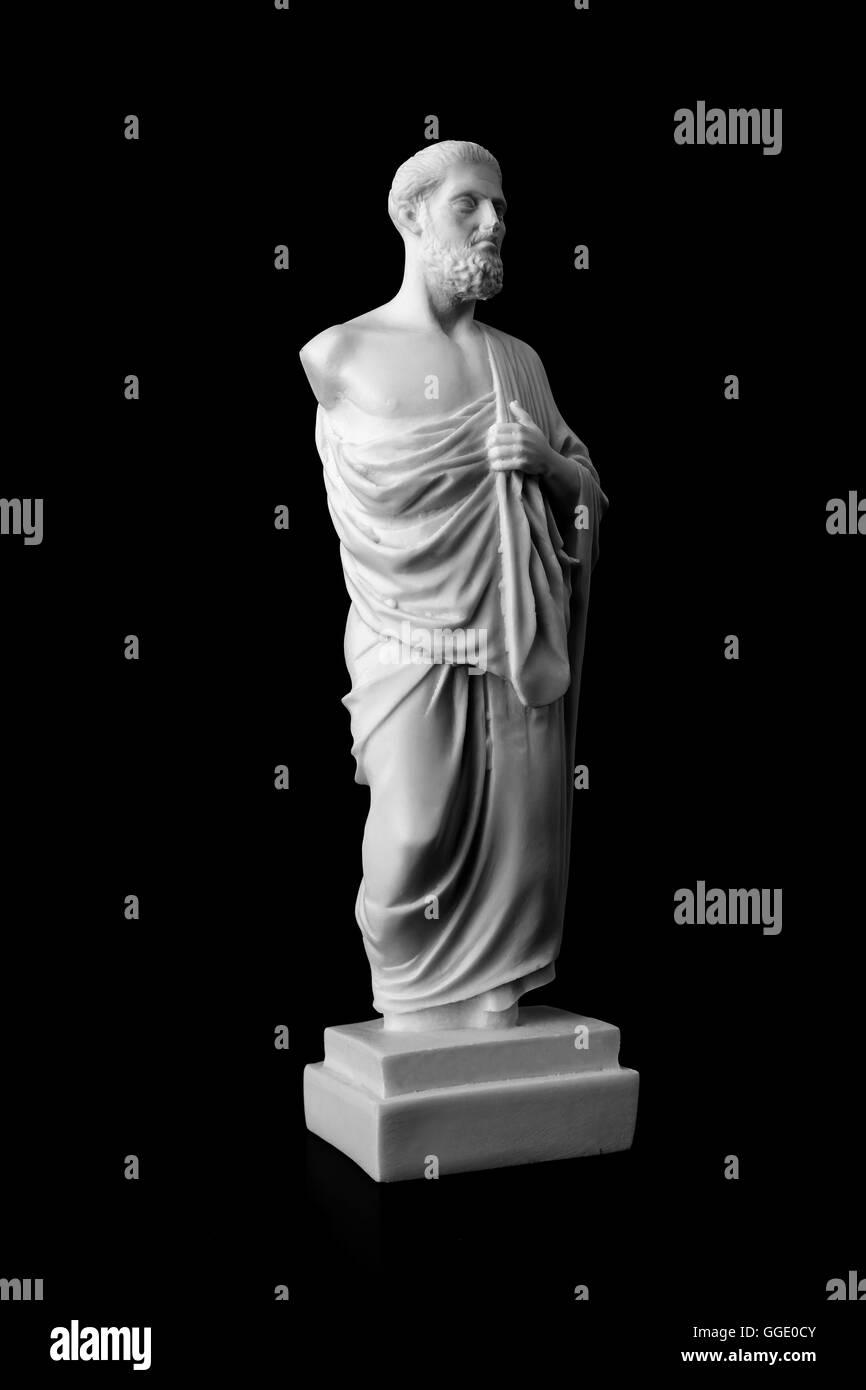 Hippokrates war eine antike griechische Arzt und gilt als einer der prominentesten Figuren in der Geschichte der Stockbild