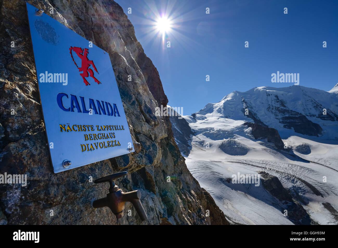 Klettersteig Piz Trovat : Calanda bier fass in die klettersteige am piz trovat mit blick auf