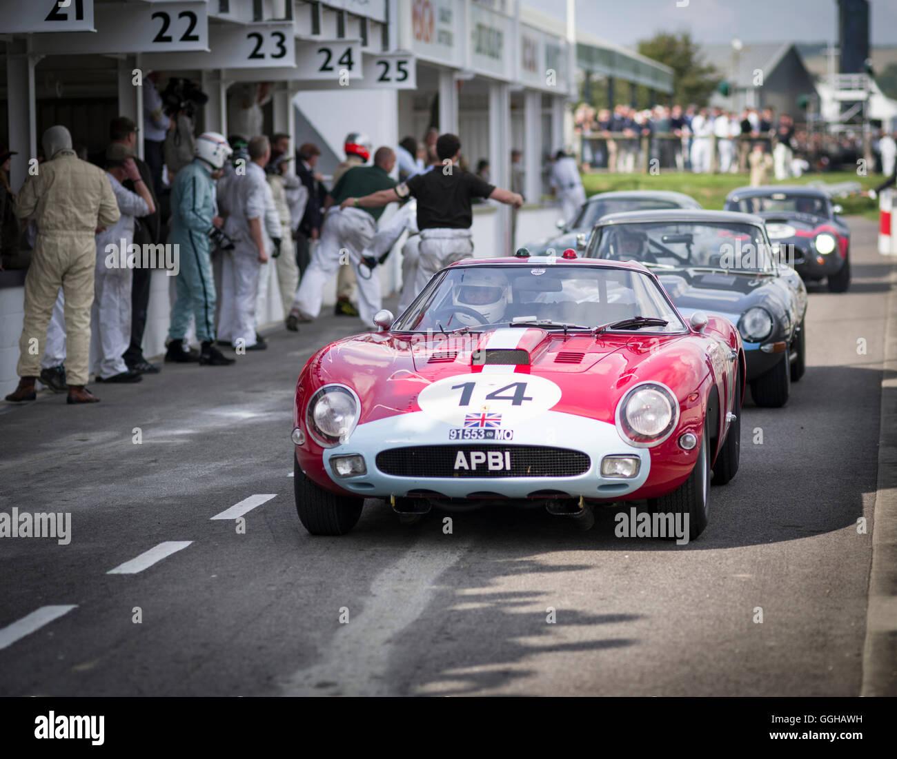 Ferrari Pit Stockfotos & Ferrari Pit Bilder - Alamy