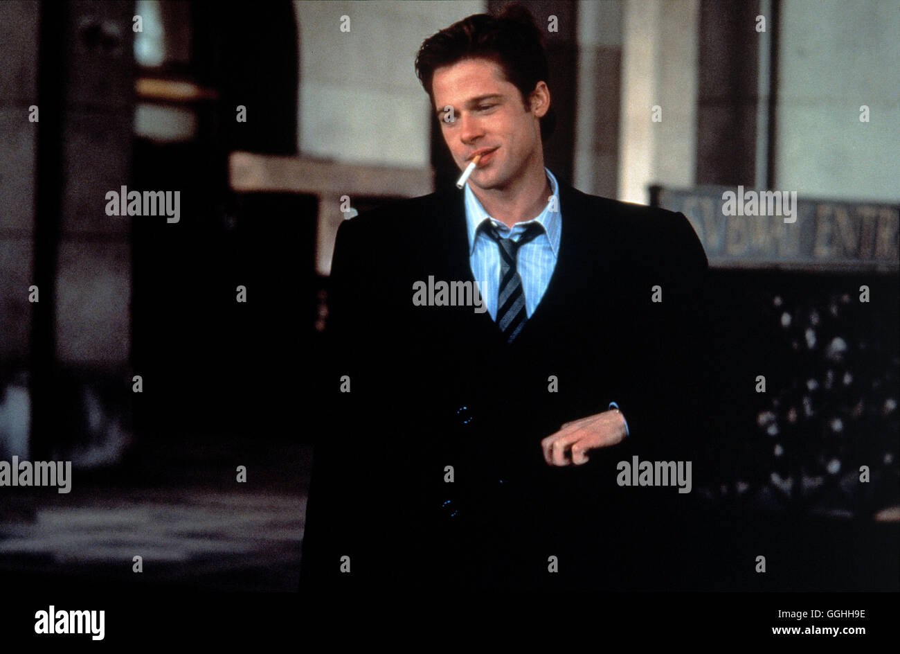 Schwellen Sleepers Usa 1996 Barry Levinson Szene Brad Pitt Michael Sullivan Regie Barry Levinson Aka Schwellen Stockfotografie Alamy