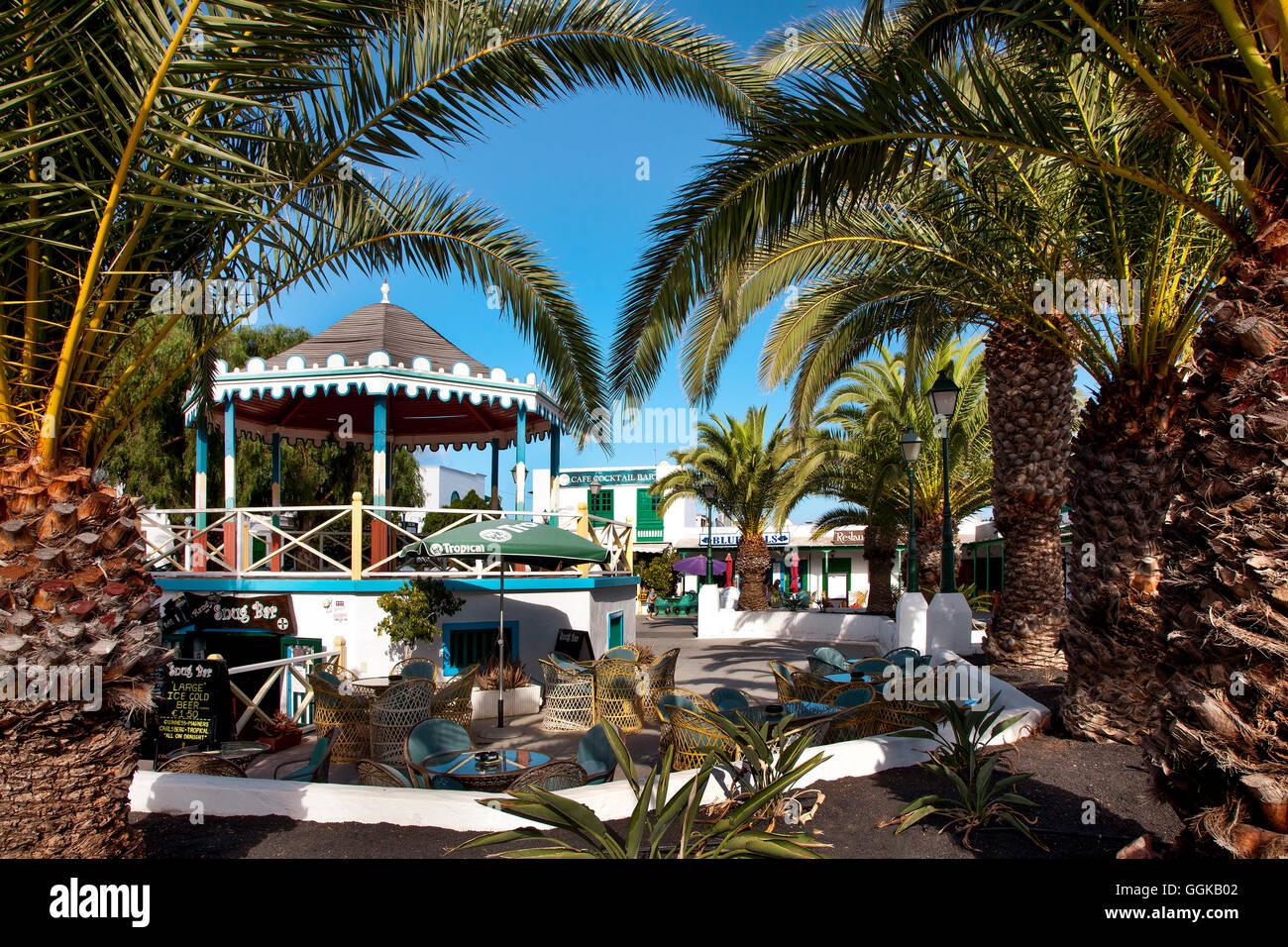 Pueblo Marinero, Costa Teguise, Lanzarote, Kanarische Inseln, Spanien Stockbild