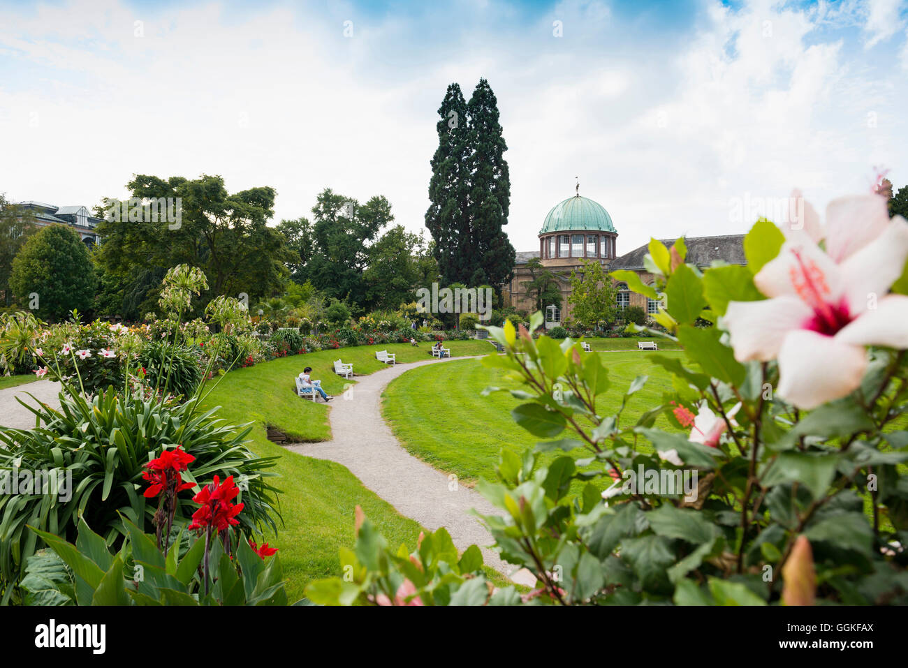 botanischer garten karlsruhe baden w rttemberg deutschland stockfoto bild 113525858 alamy. Black Bedroom Furniture Sets. Home Design Ideas