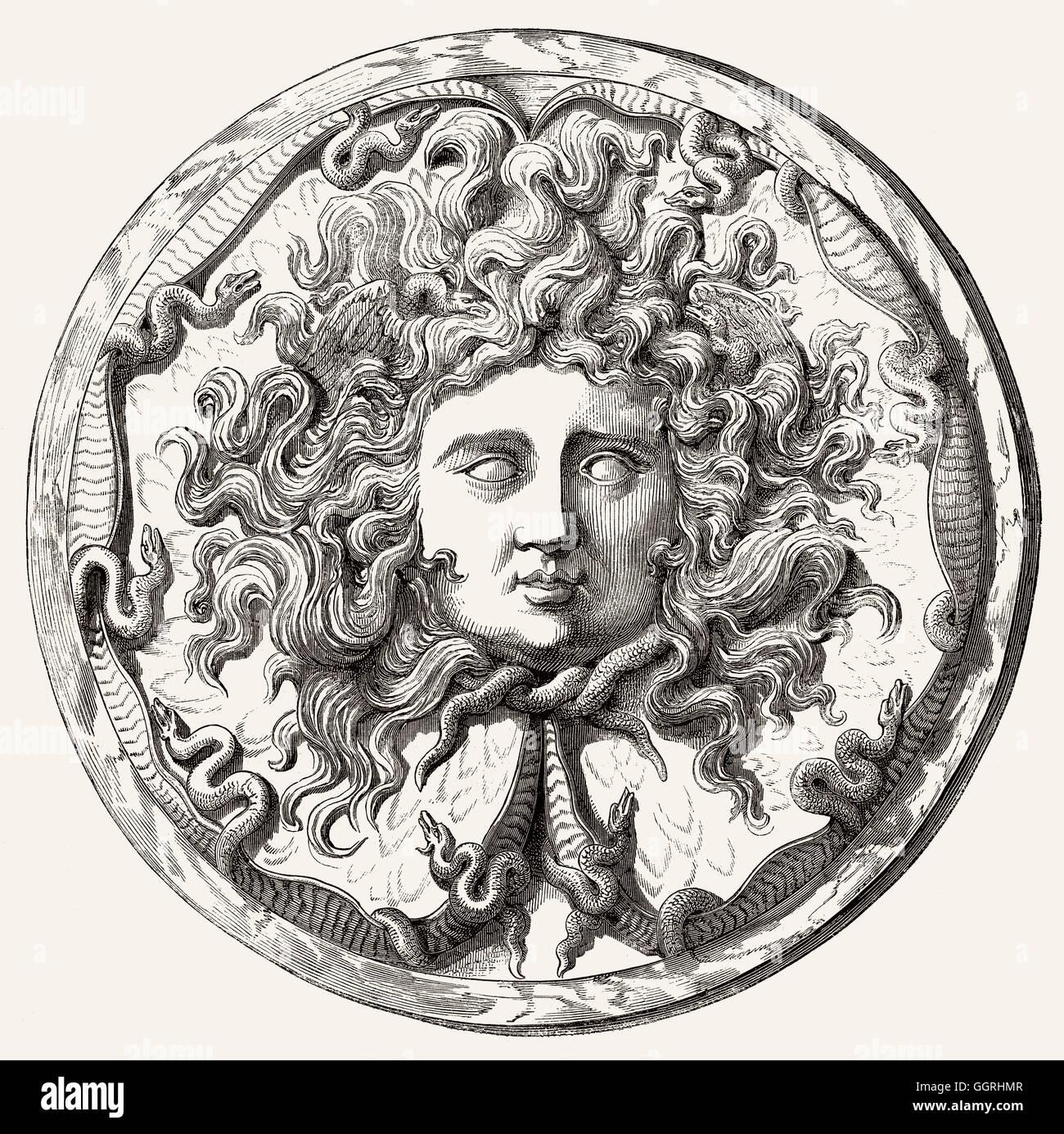 medusa mythologie