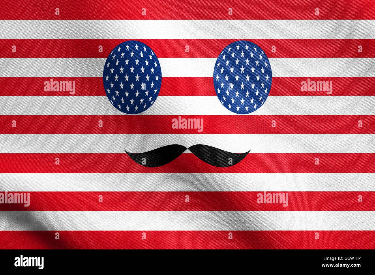 Schön Amerikanische Flagge Färbung Fotos - Malvorlagen Von Tieren ...