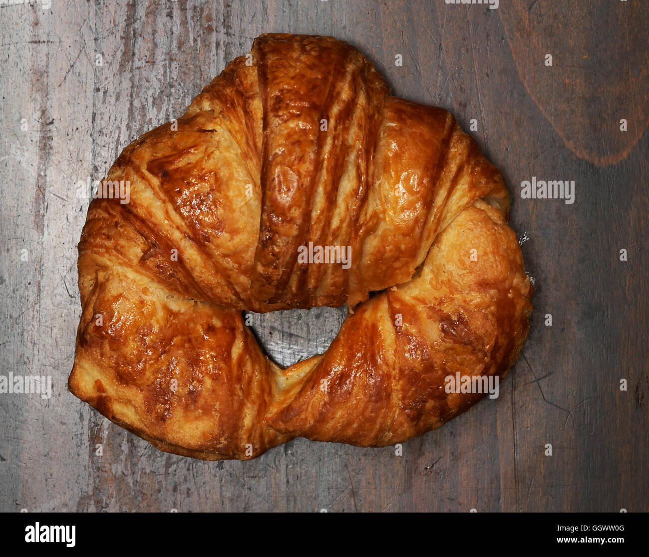 Croissant Stockbild