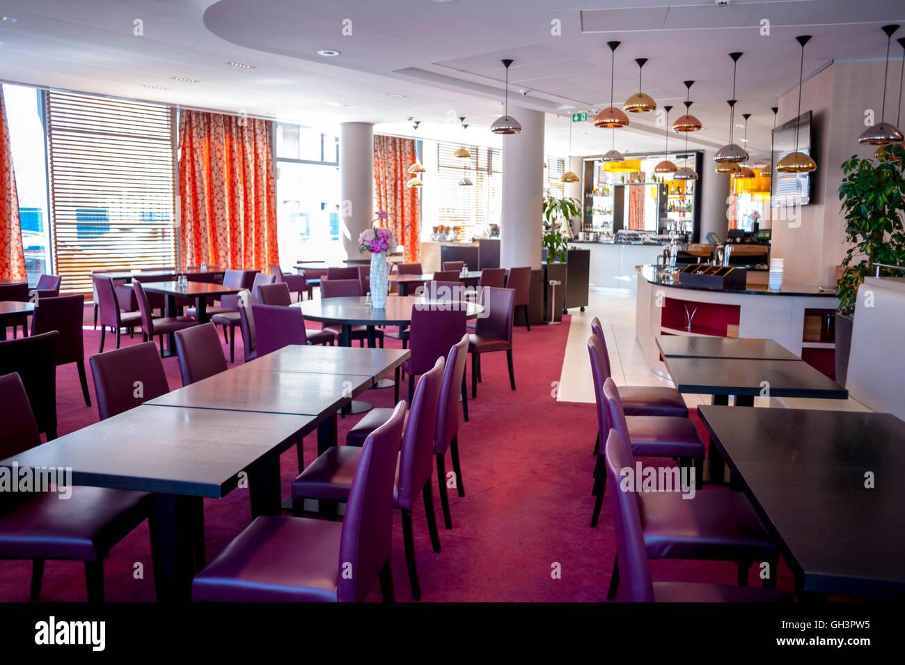 Clichy, Frankreich, Innenarchitektur, französisches Restaurant ...