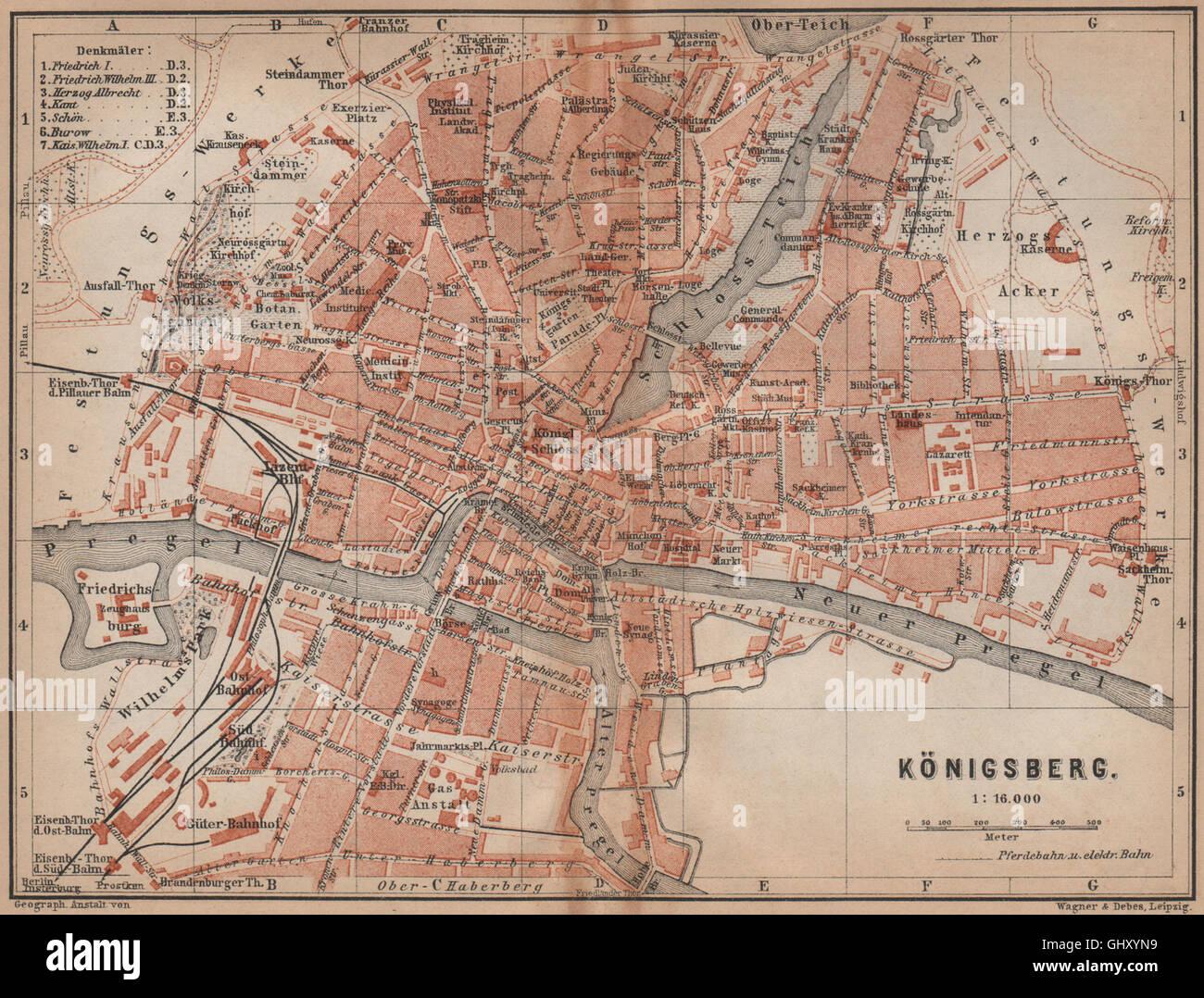 Königsberg Kaliningrad Karte.Königsberg Kaliningrad Stadt Stadt Attraktivem калининград