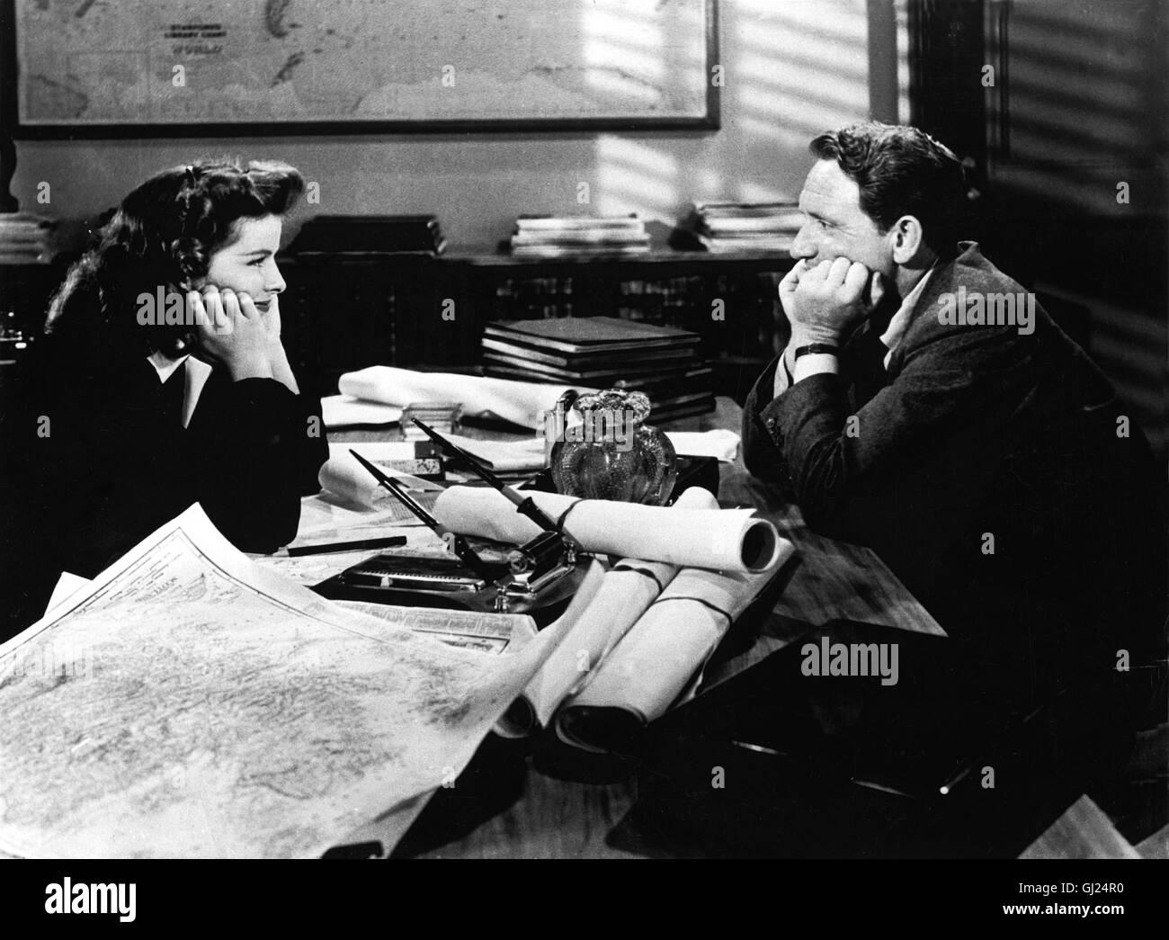 Die Frau Von Der Man Spricht Frau Des Jahres Usa 1942 George