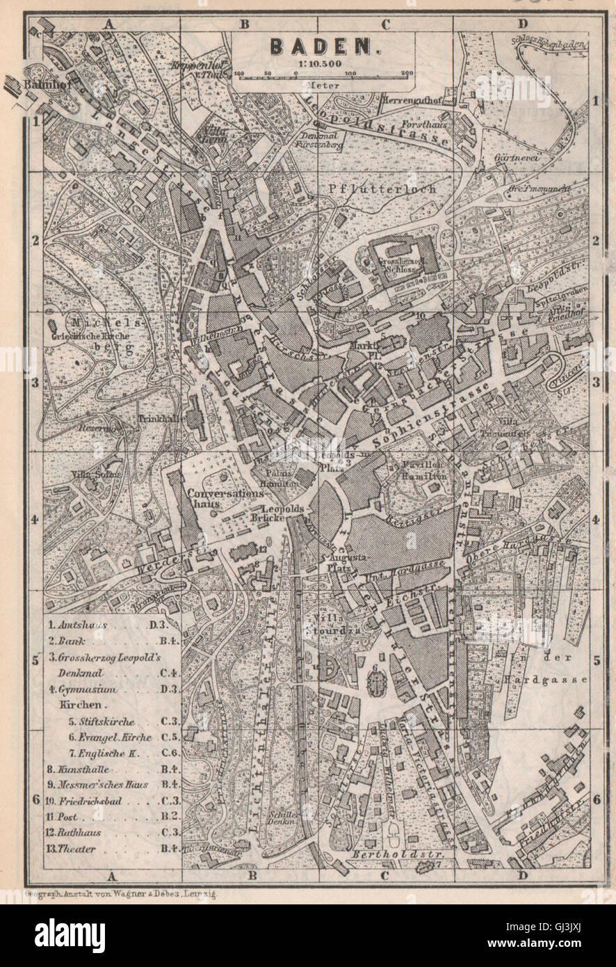 Neustadt An Der Weinstraße & Winzingen Neustadt An Der Haardt Karte 1906 Map Europe Maps