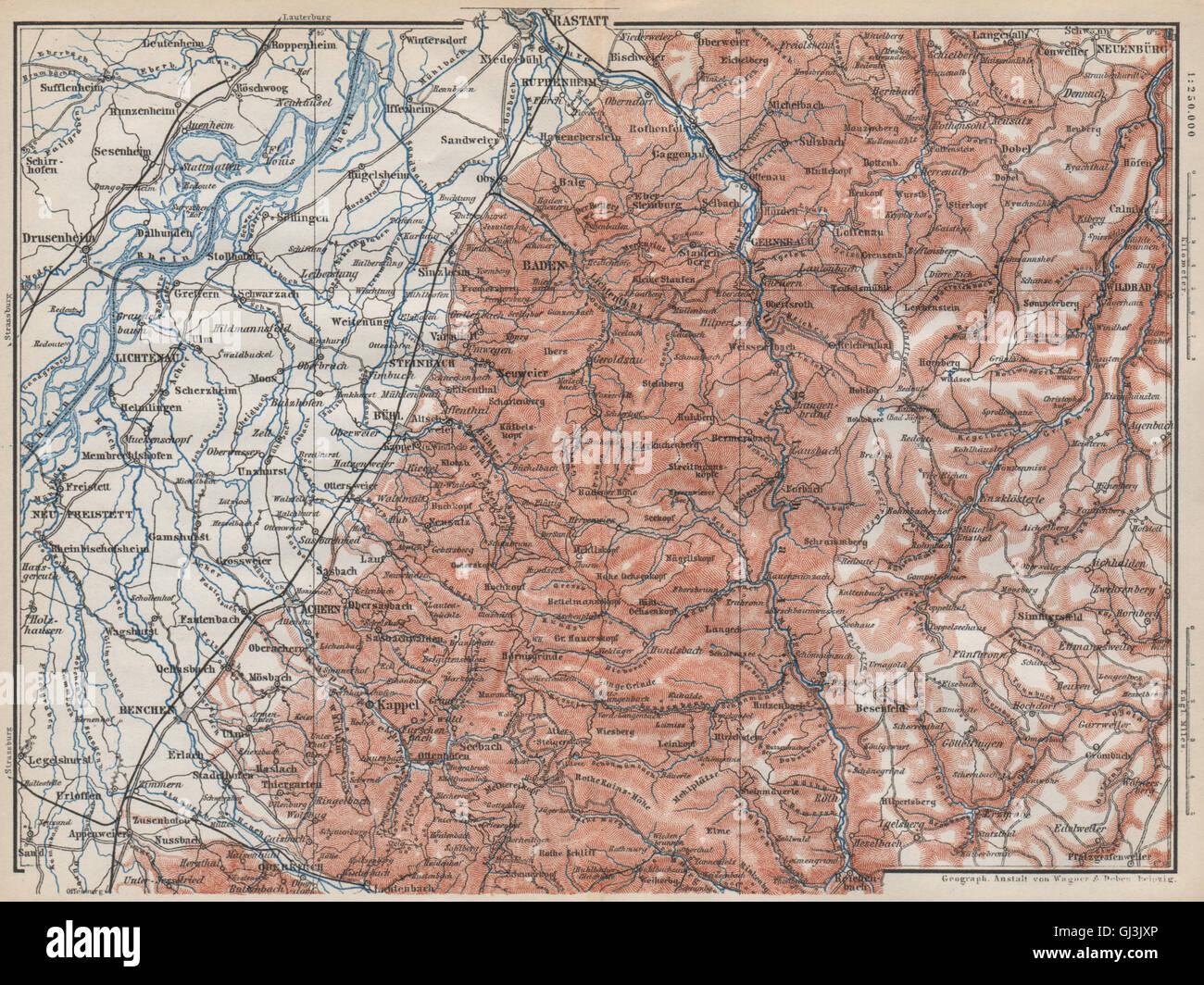 Schwarzwald Radweg Karte Reise Service Velociped