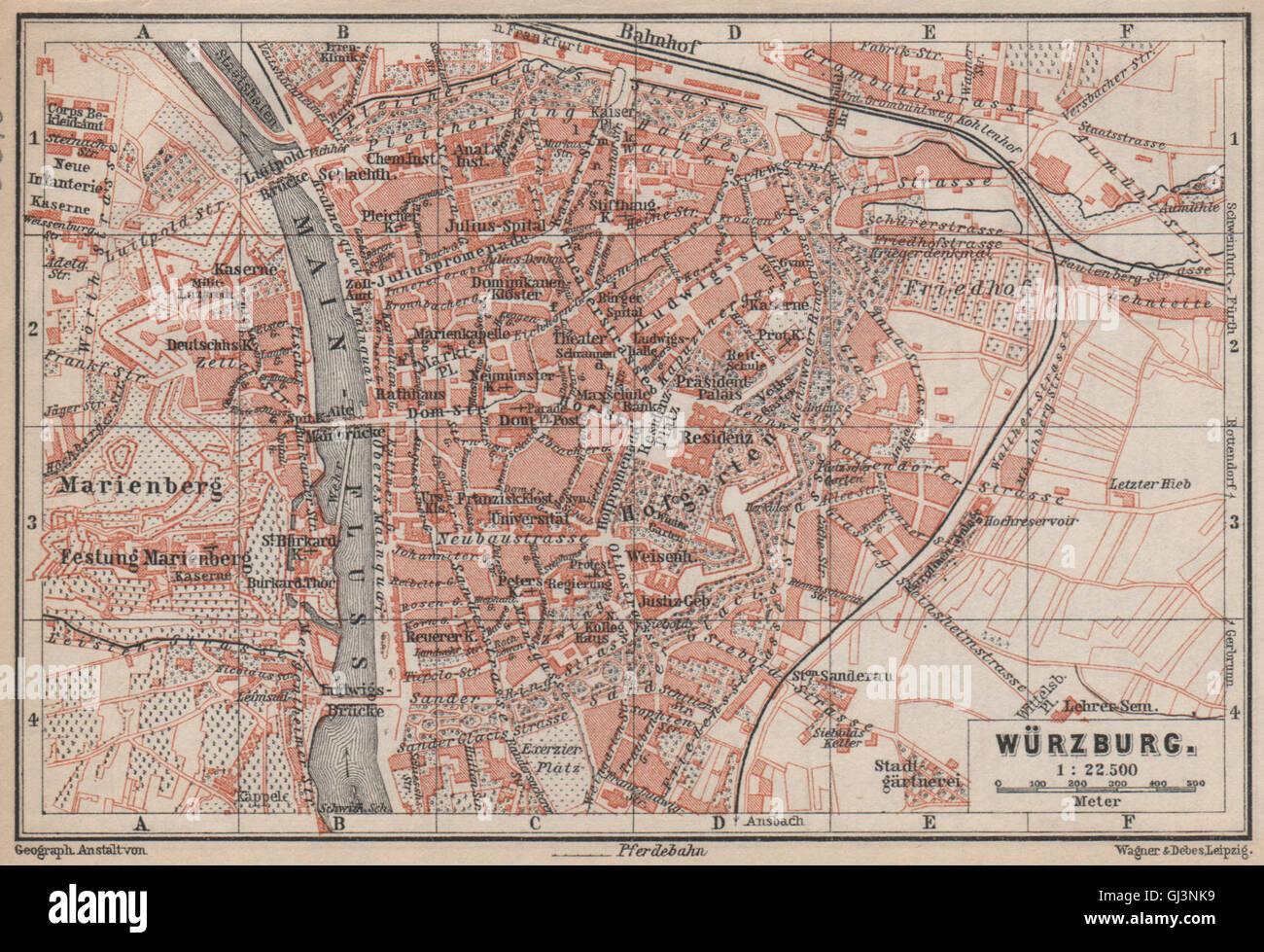 Karte Würzburg Und Umgebung.Würzburg Stadt Stadt Attraktivem Umgebung Umgebung Würzburg