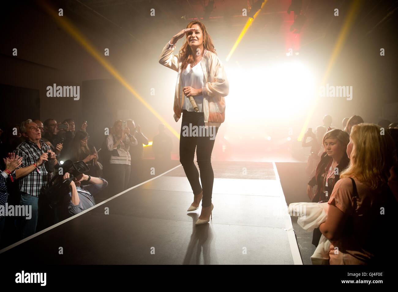 Berlin Deutschland 11 August 2016 Schlager Sängerin Andrea Berg