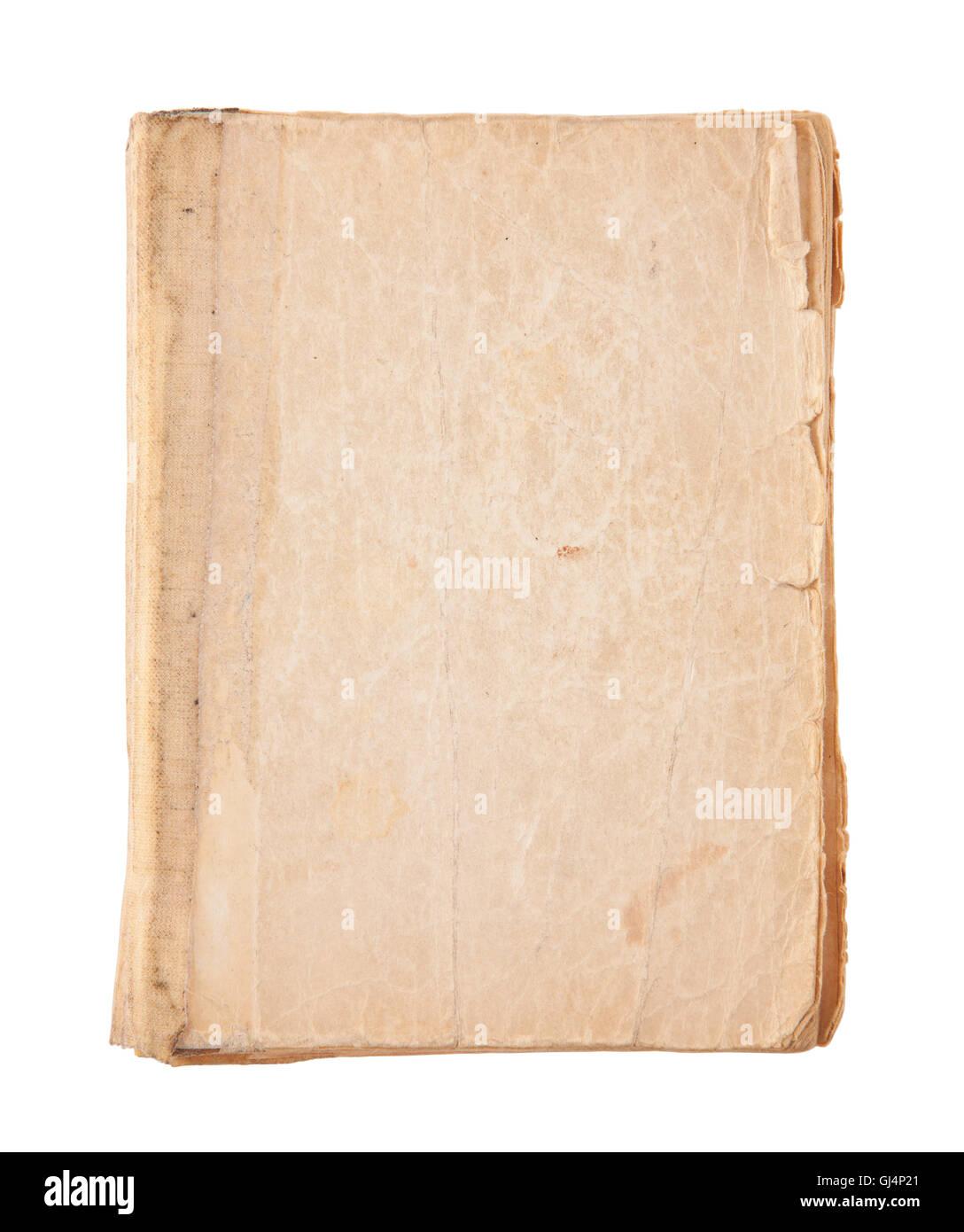 Old Book Cover Mit Beschneidungspfad
