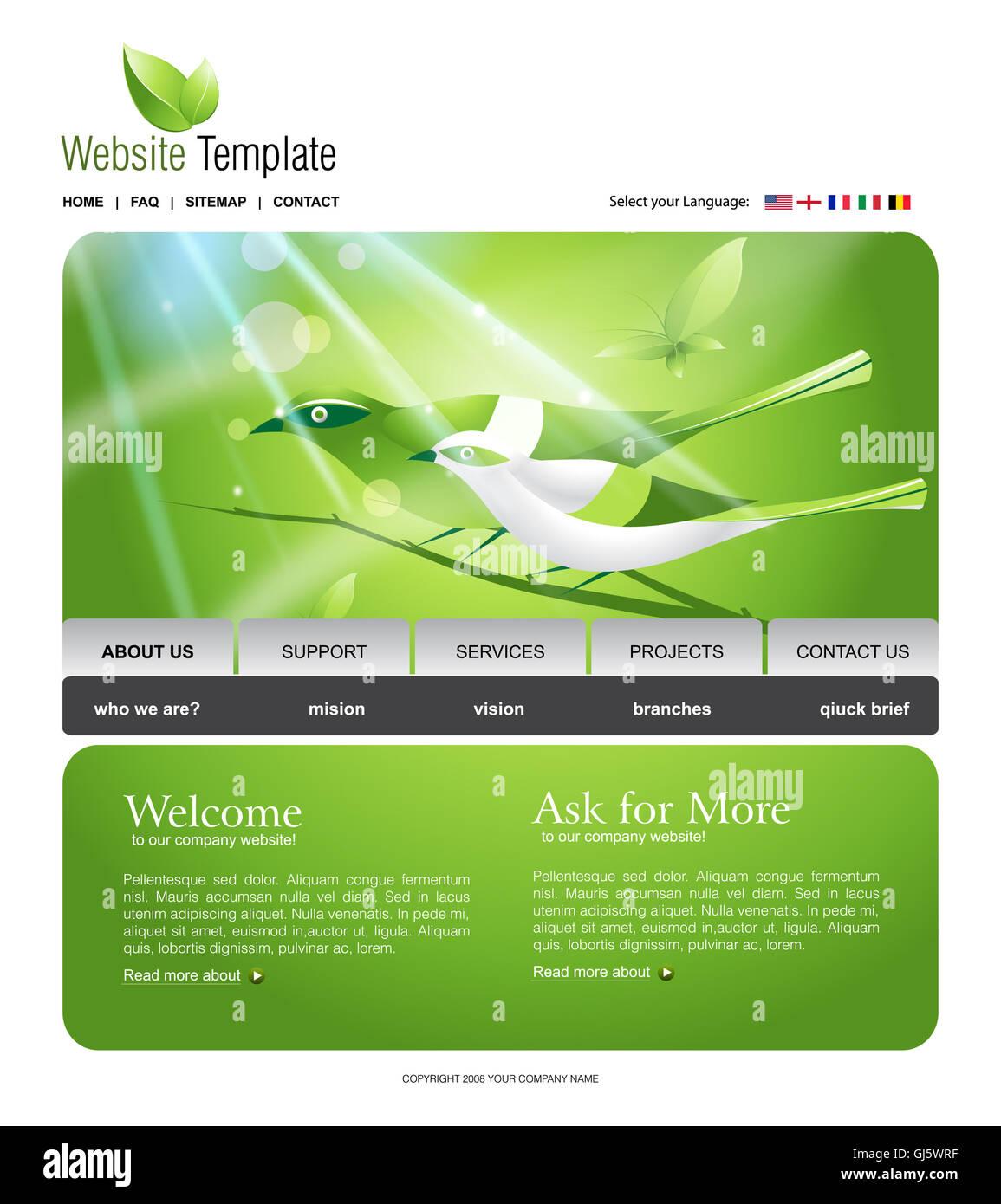 Charmant Stammbaum Website Vorlagen Galerie - Beispiel Business ...