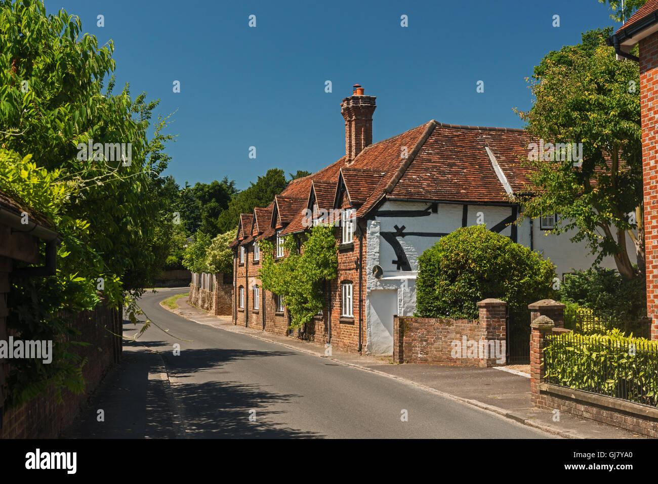 Das Dorf Shere in der Surrey Hills England Grossbritannien Stockbild