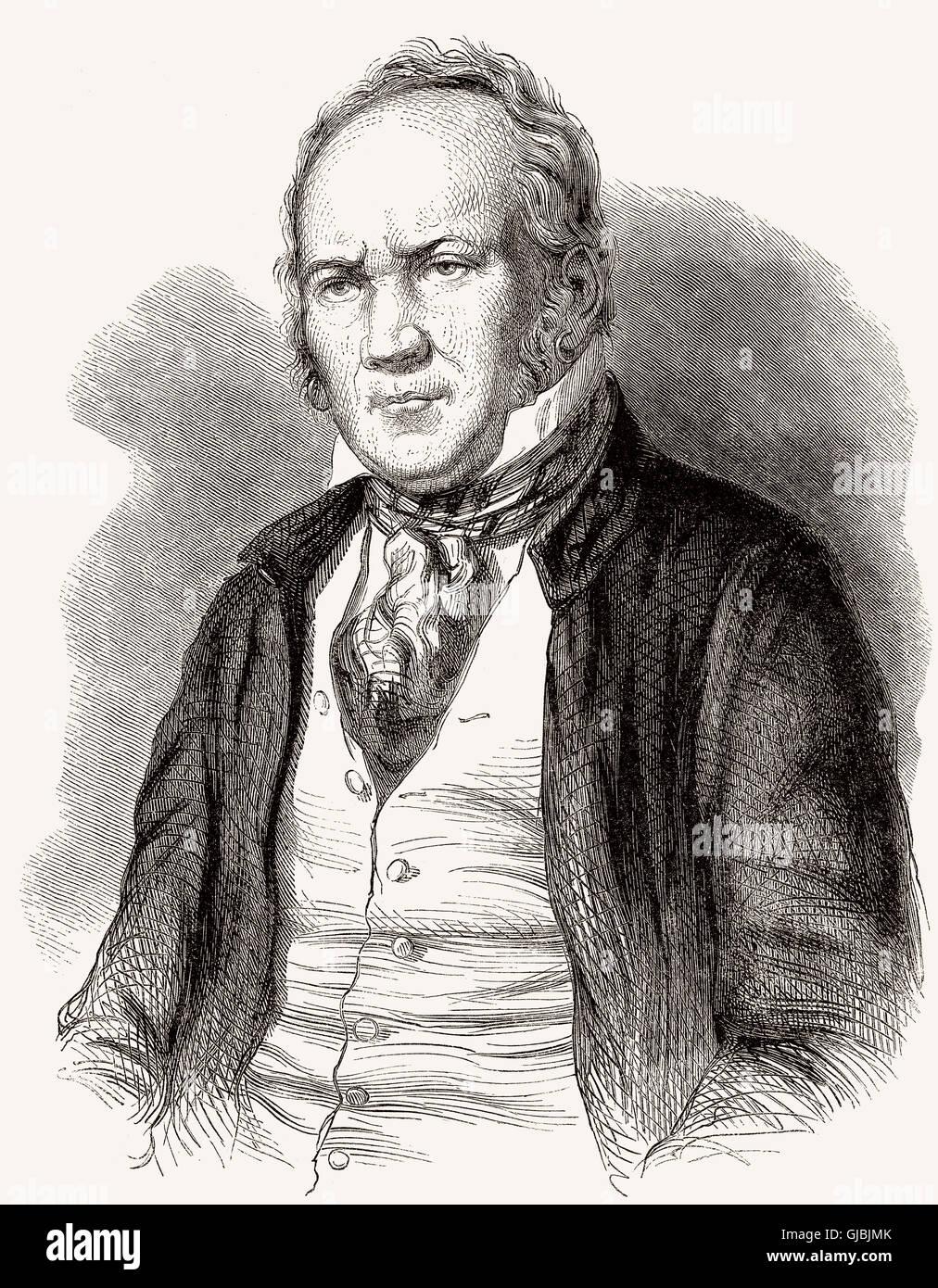 Jean Duplessis-Bertaux, 1747-1820, eine französische Zeichner, Kupferstecher und Maler Stockbild