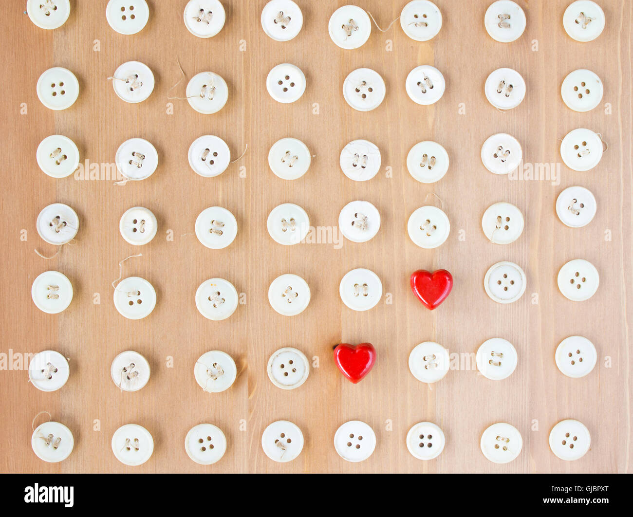 Buttons Wooden Table Button Stockfotos & Buttons Wooden Table Button ...