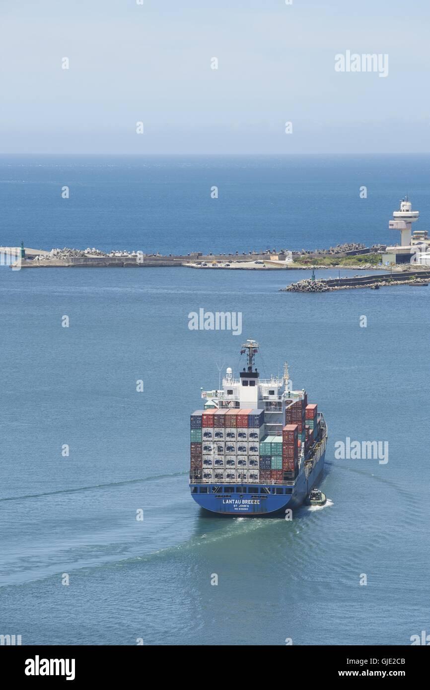 Keelung Harbor Taiwan Stockfotos & Keelung Harbor Taiwan Bilder ...