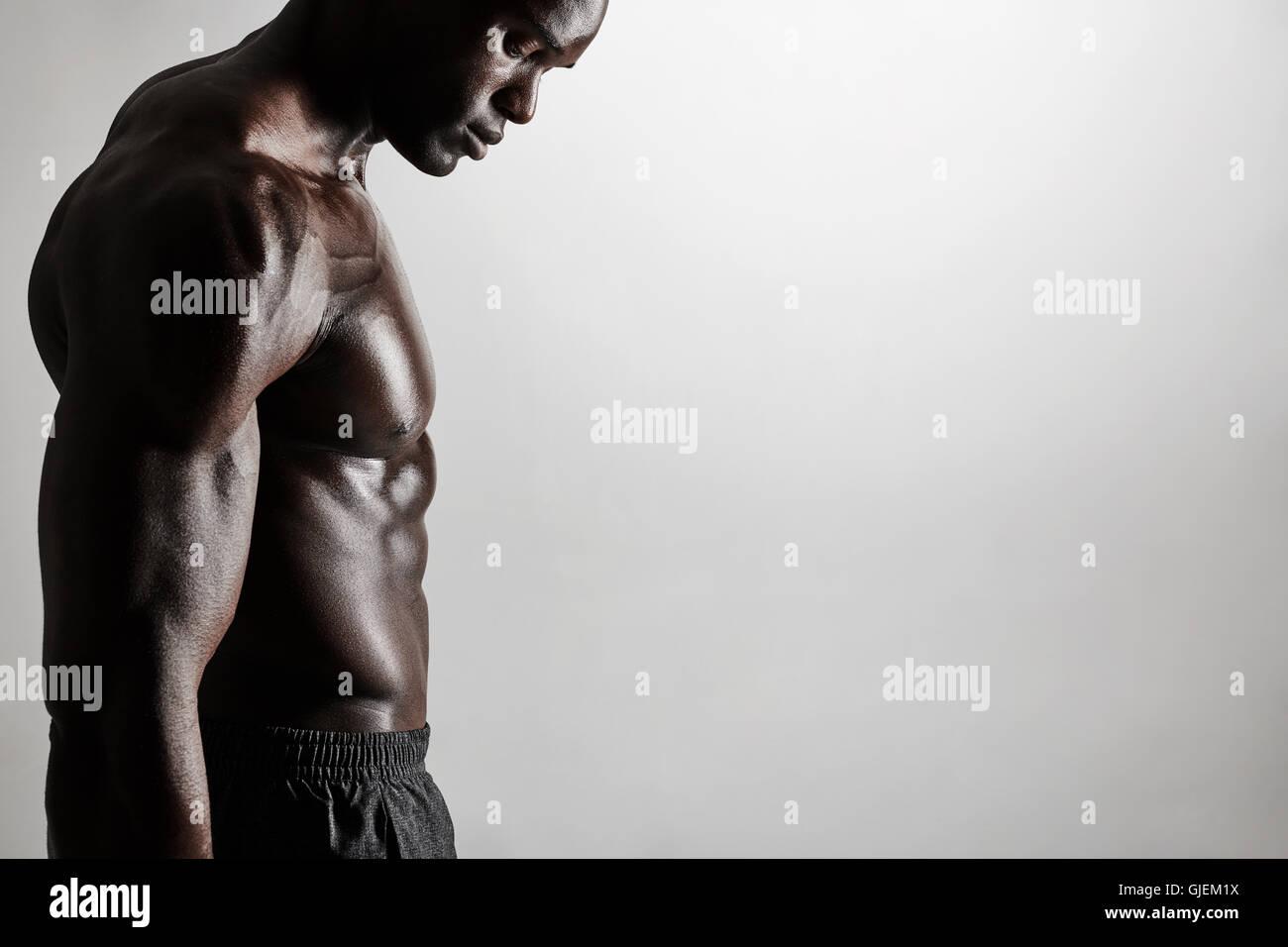 Man Torso Side View Stockfotos & Man Torso Side View Bilder - Alamy