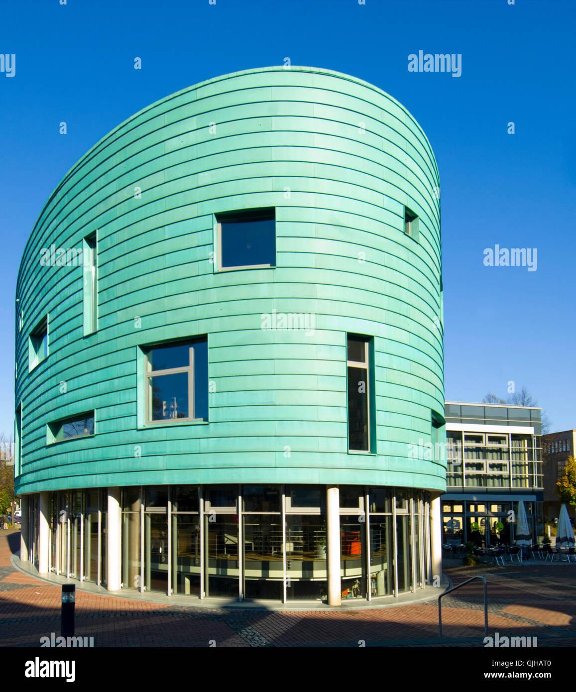 BRD, Deutschland, NRW, Bergheim, Kultur-Und Medienzentrum Medio Rhein-Erft Stockbild