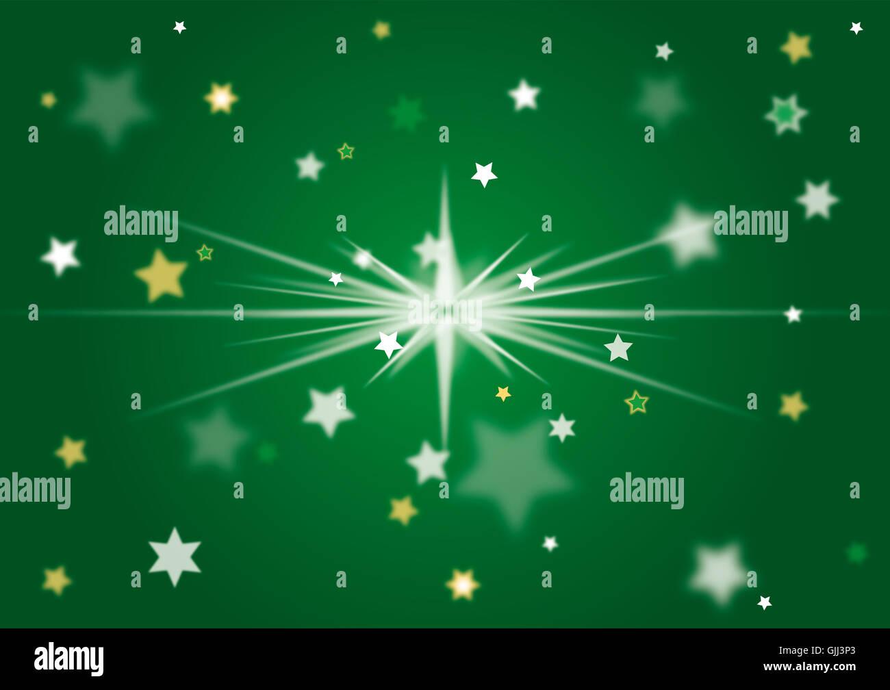 Geschenk-Strahlen-Dekoration Stockbild