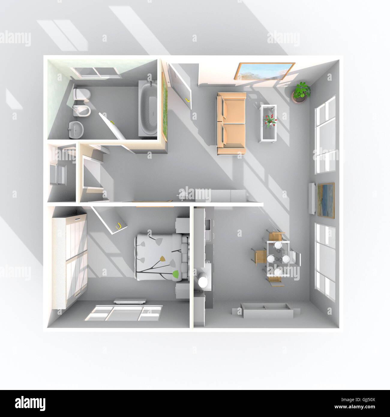 Ungewöhnlich Haus Design Draufsicht Zeitgenössisch - Images for ...